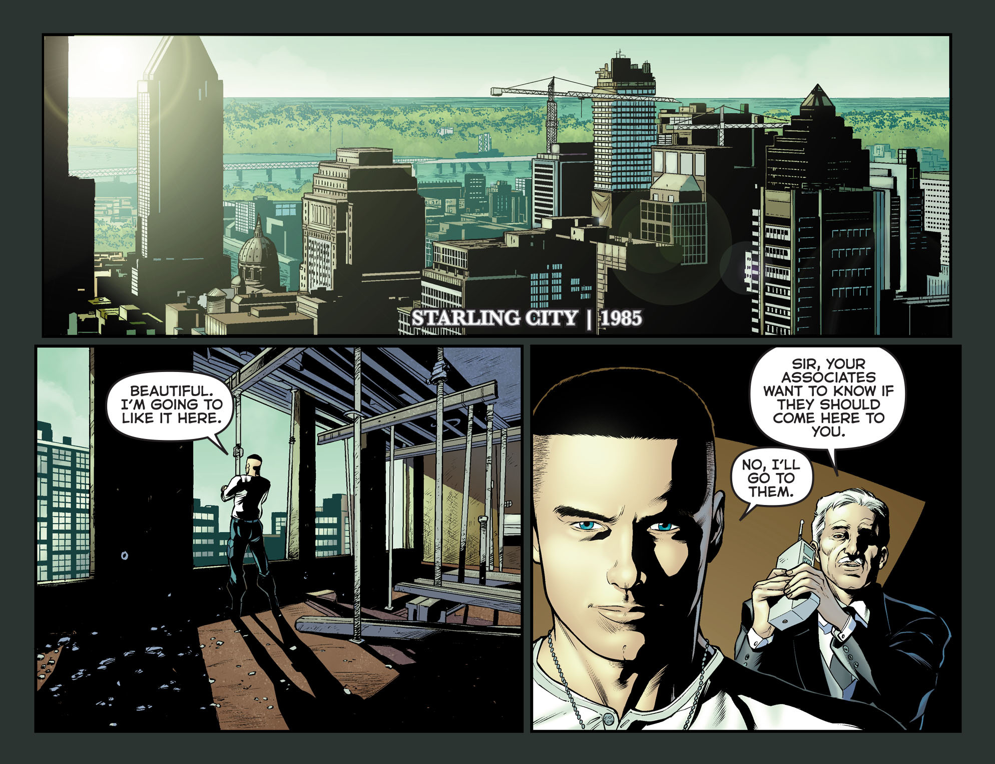 Read online Arrow: The Dark Archer comic -  Issue #12 - 19