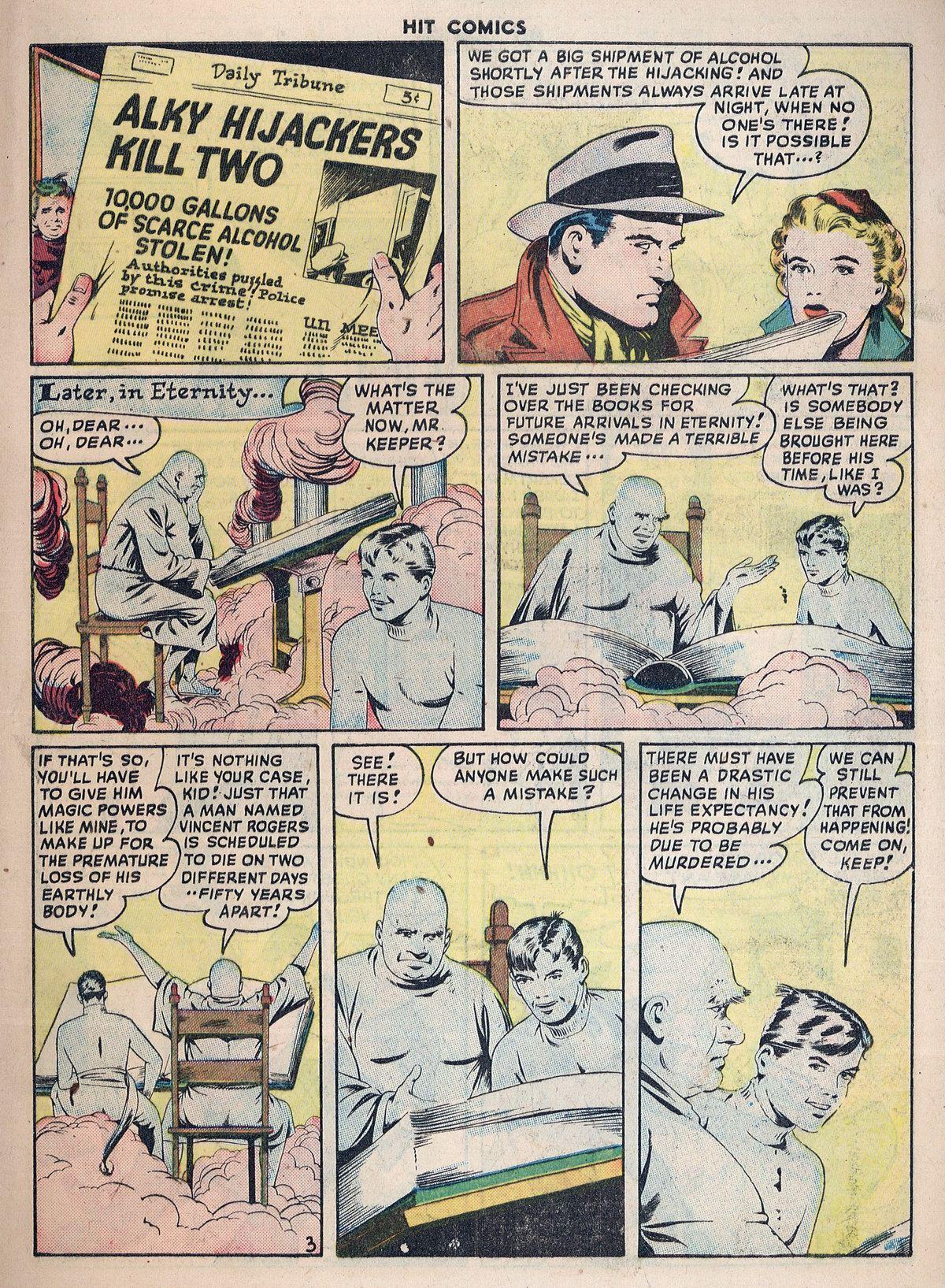 Read online Hit Comics comic -  Issue #55 - 5