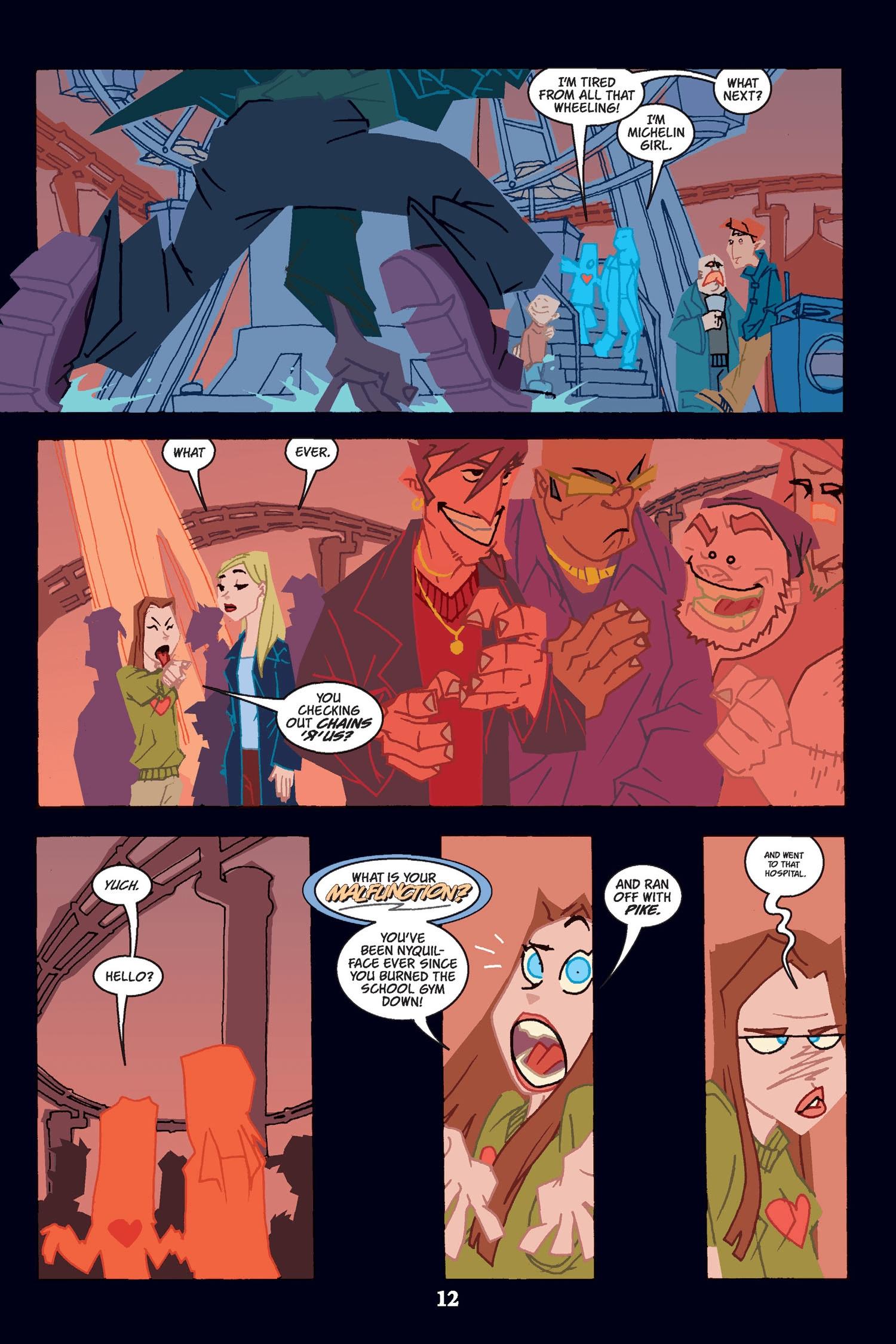 Read online Buffy the Vampire Slayer: Omnibus comic -  Issue # TPB 2 - 12