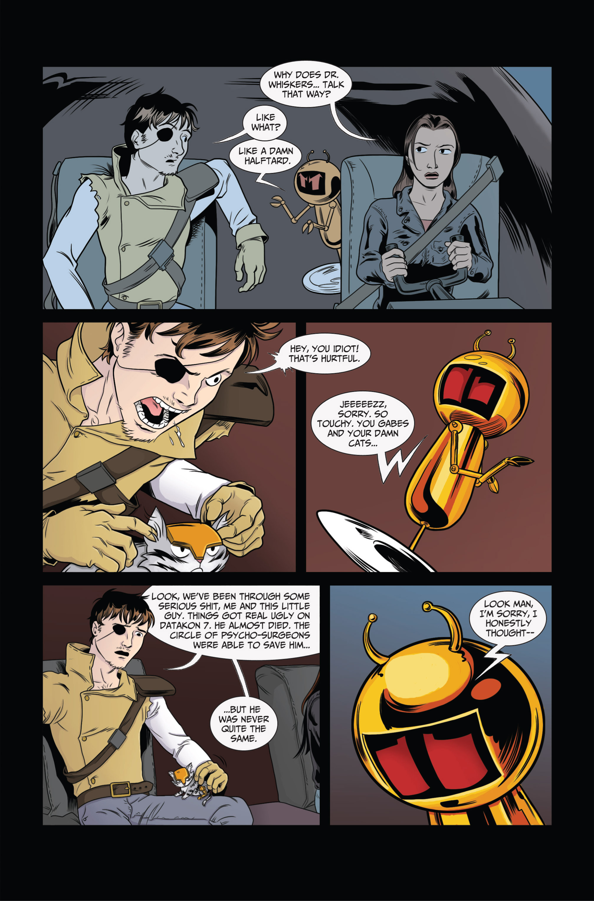 Read online Ehmm Theory: Everything & Small Doses comic -  Issue #2 - 19