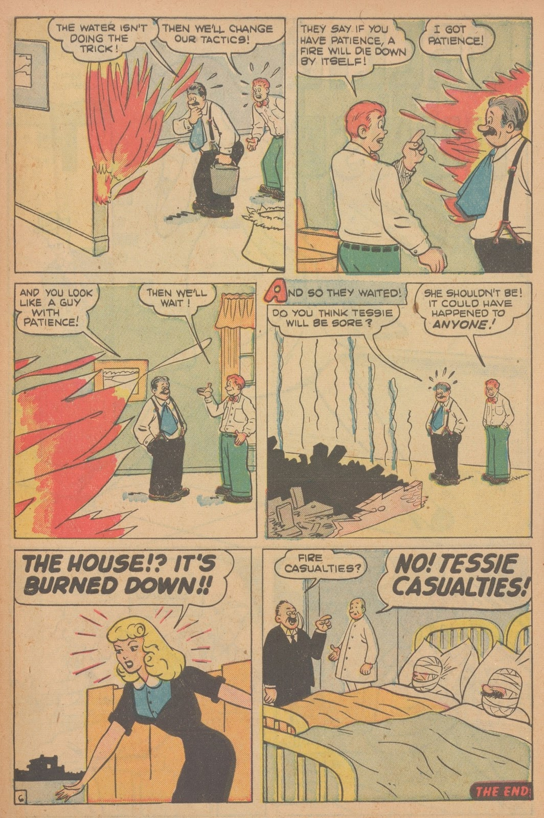 Read online Nellie The Nurse (1945) comic -  Issue #21 - 41