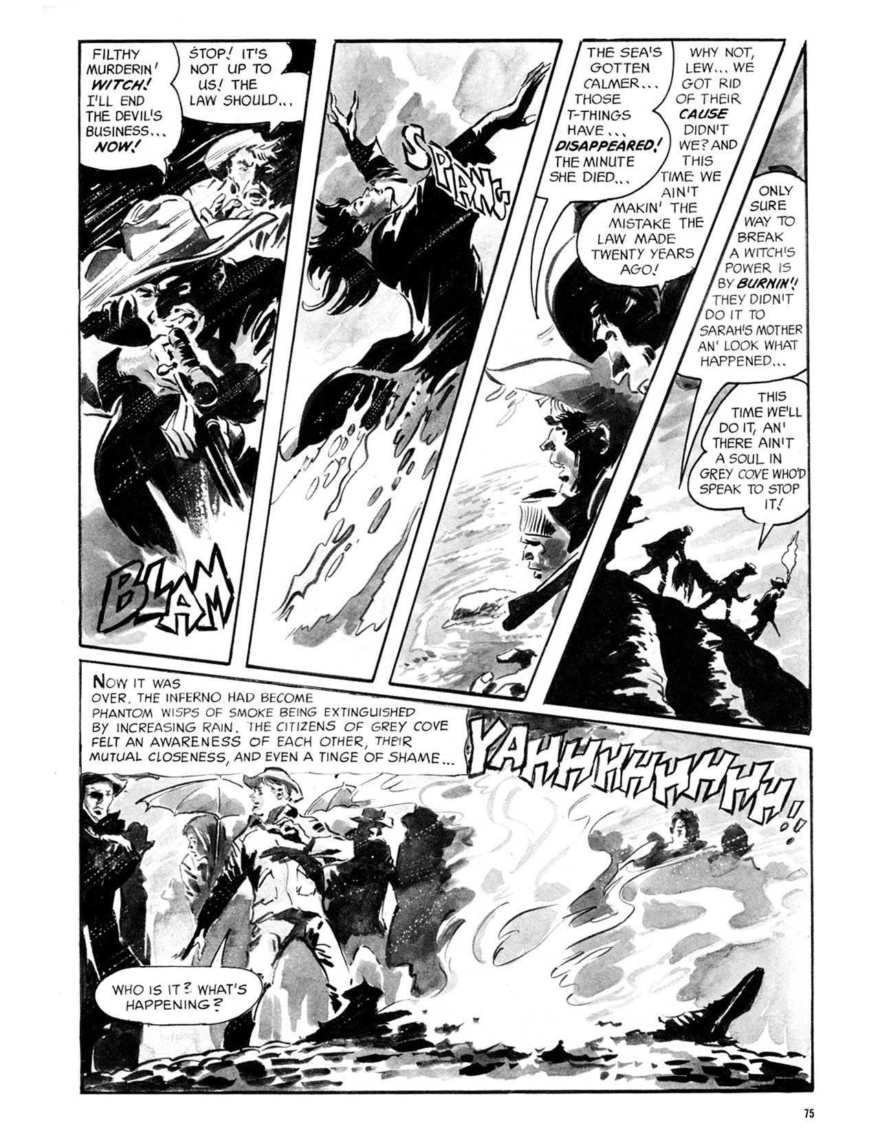 Read online Eerie Archives comic -  Issue # TPB 2 - 76