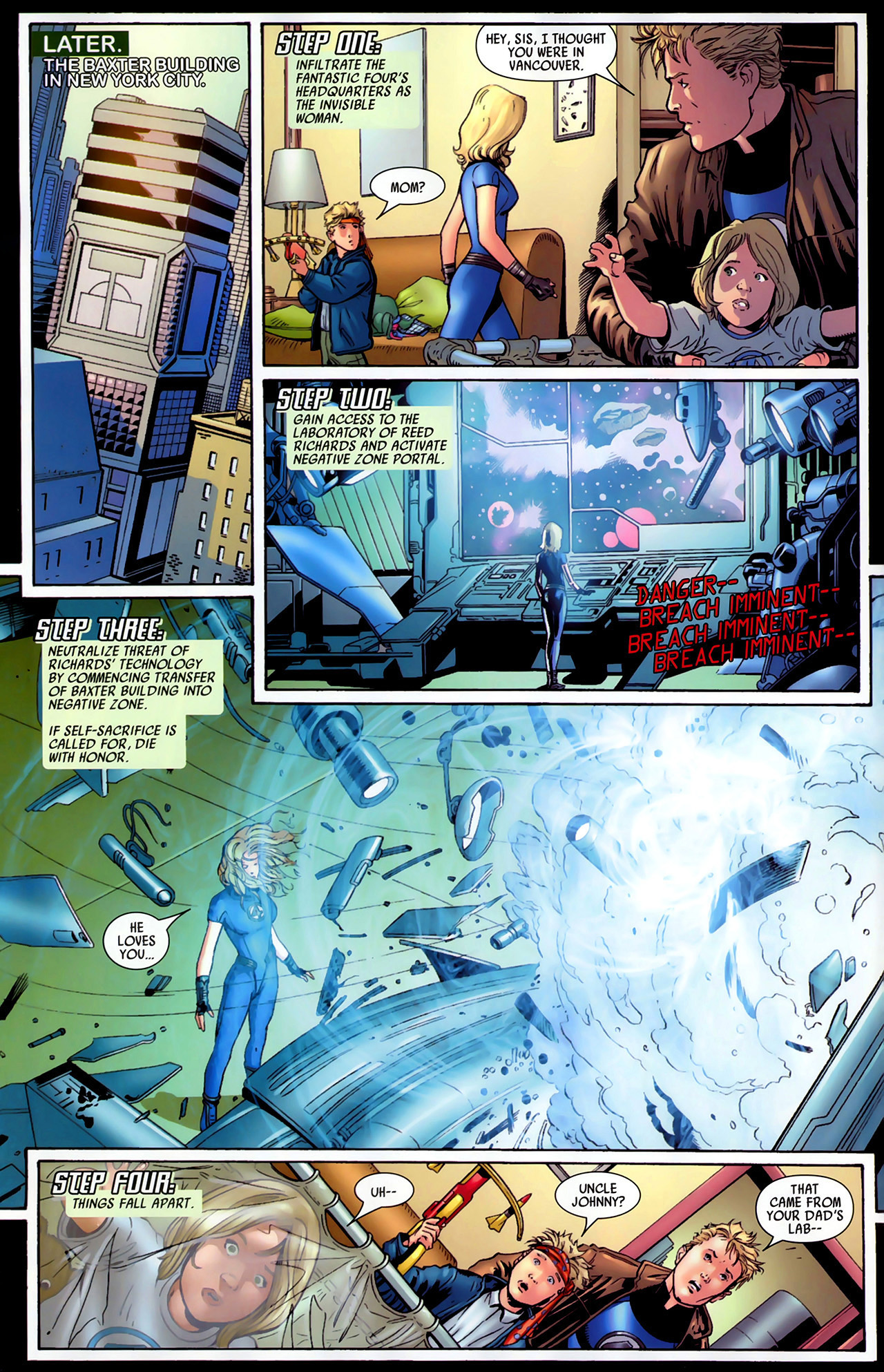 Read online Secret Invasion: Fantastic Four comic -  Issue #1 - 7