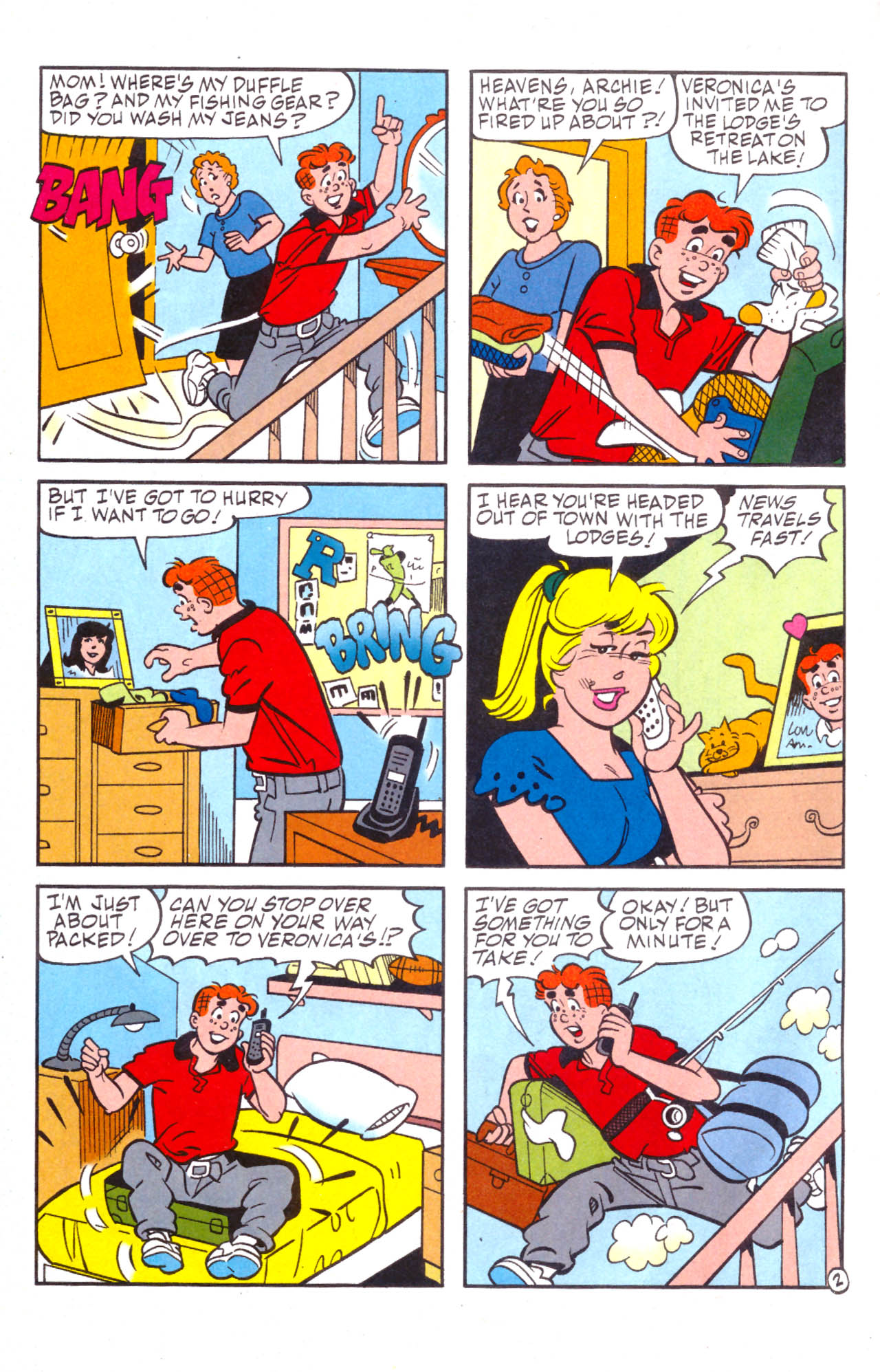 Read online Archie (1960) comic -  Issue #576 - 22