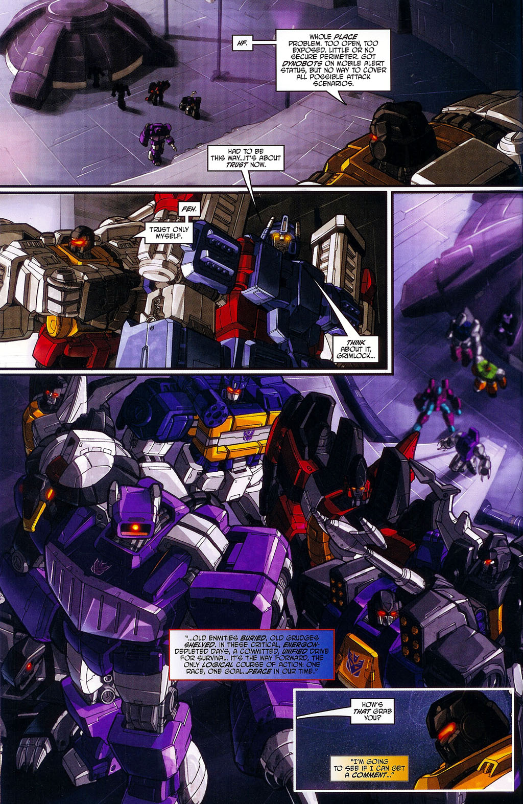 """Read online Transformers War Within: """"The Age of Wrath"""" comic -  Issue #1 - 13"""
