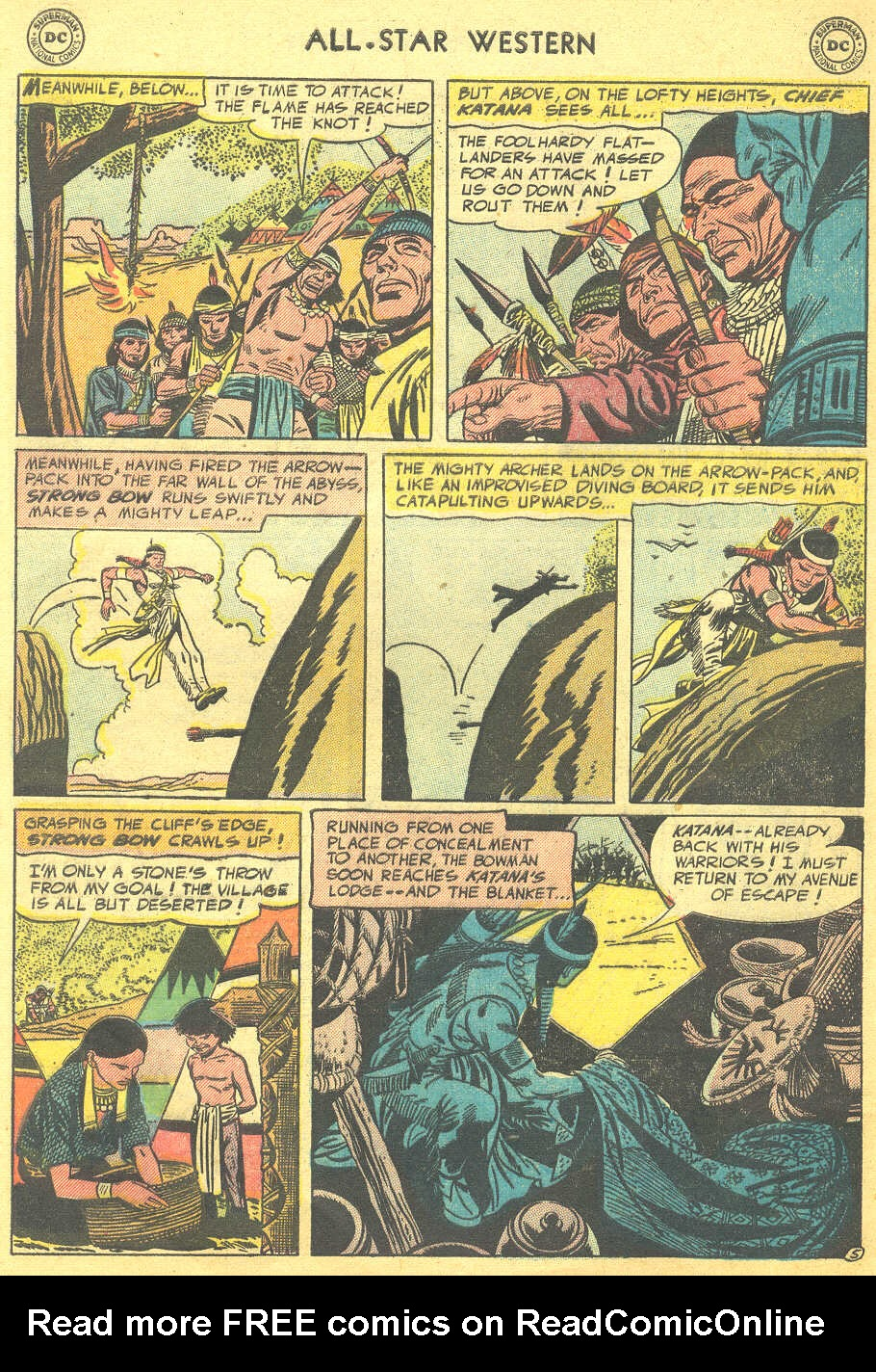 Read online All-Star Western (1951) comic -  Issue #88 - 32