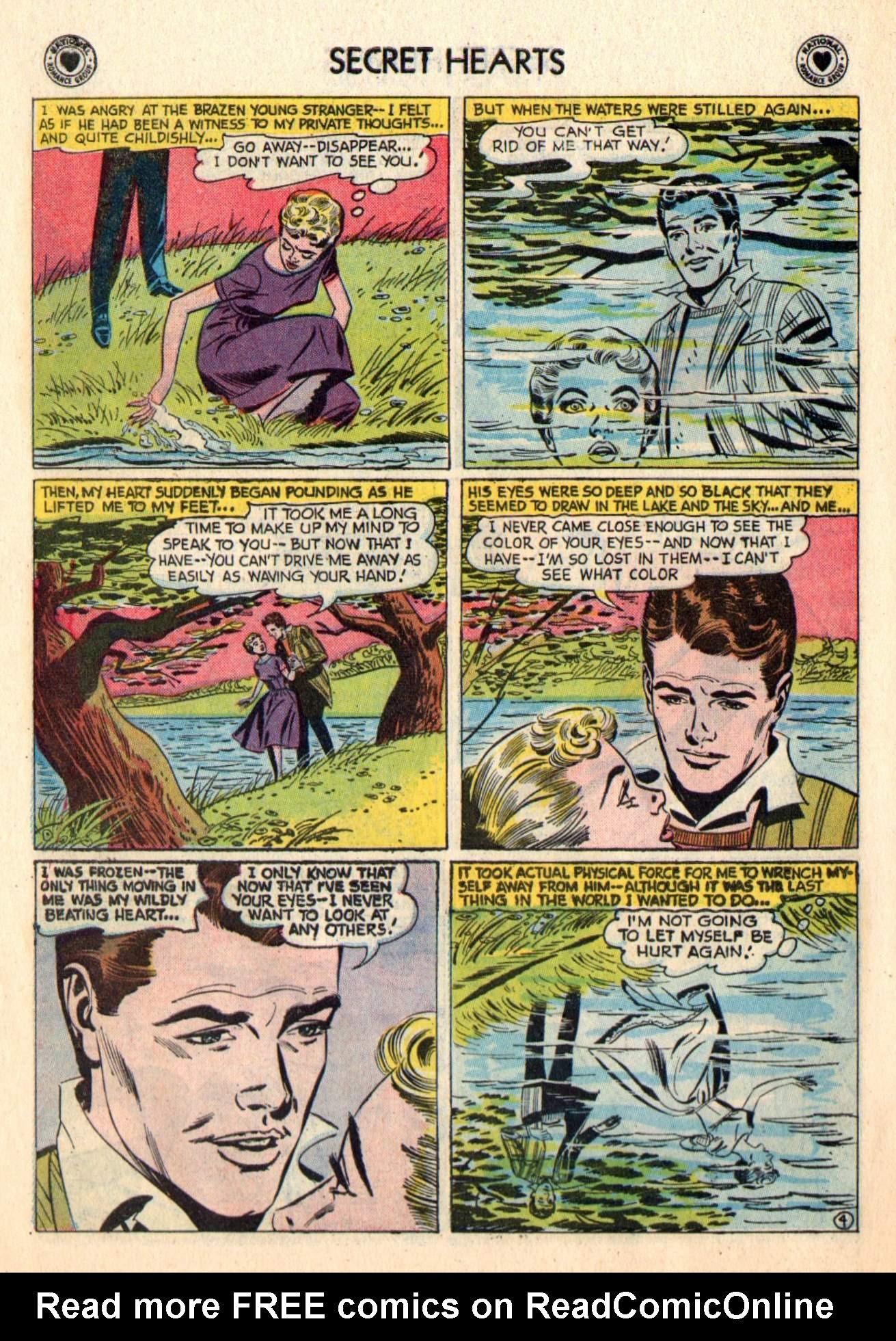 Read online Secret Hearts comic -  Issue #48 - 30