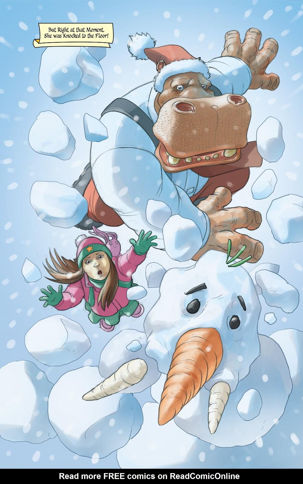 Read online Elephantmen 2261 Season Two: The Pentalion Job comic -  Issue # TPB - 103