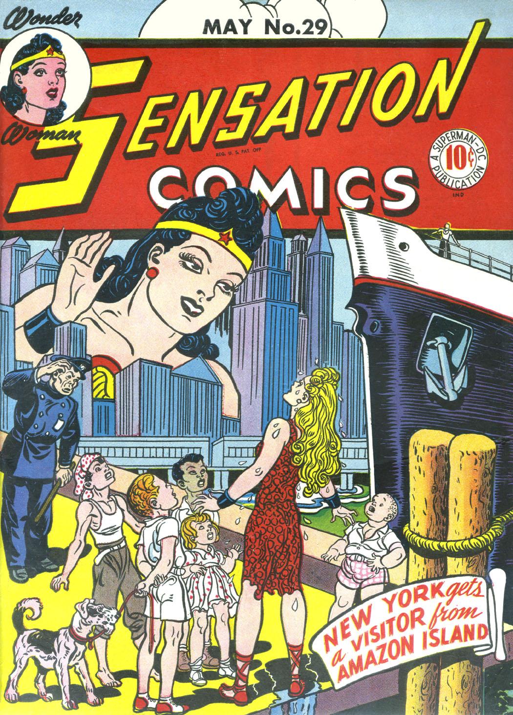 Read online Sensation (Mystery) Comics comic -  Issue #29 - 1