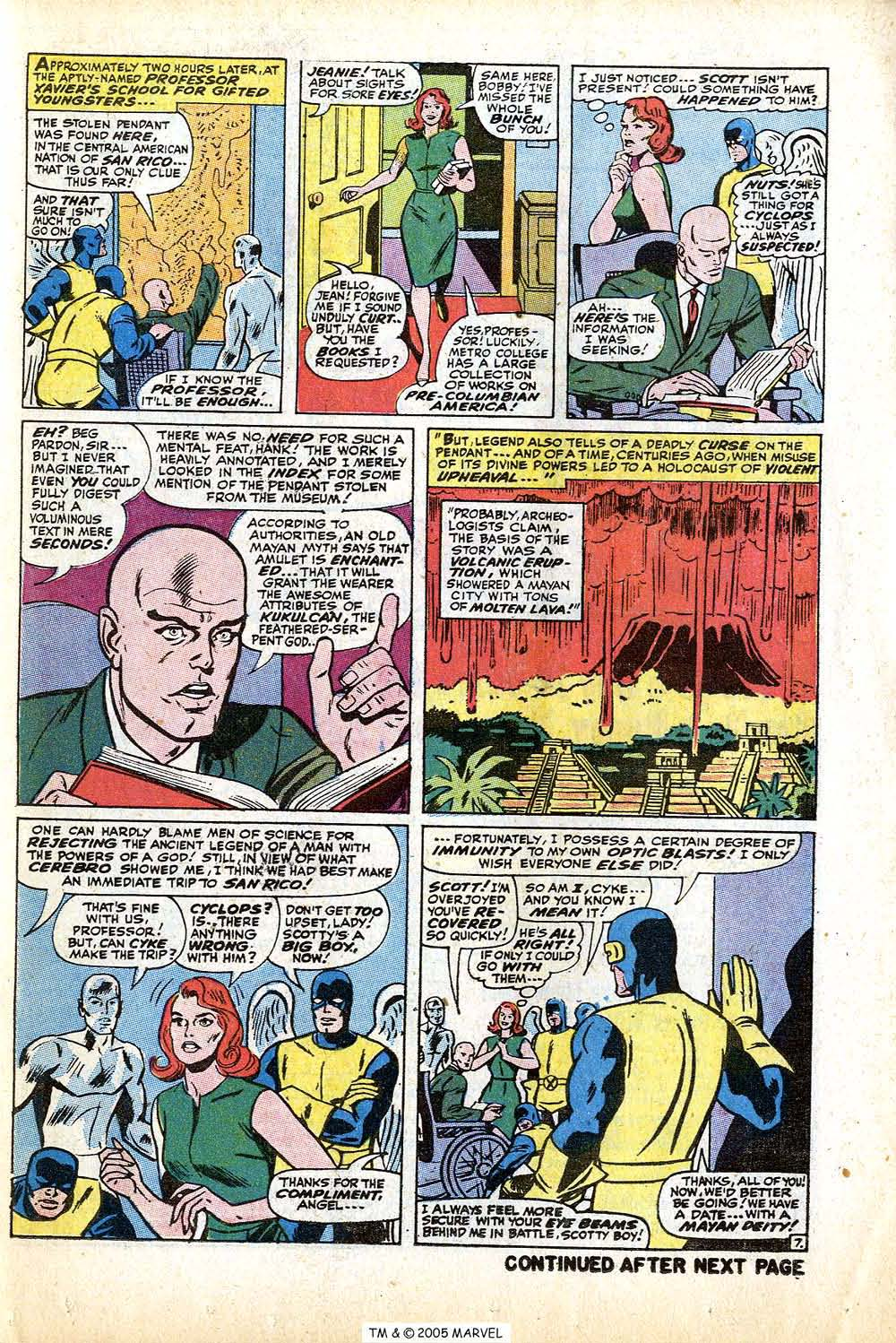 Read online Uncanny X-Men (1963) comic -  Issue #74 - 11