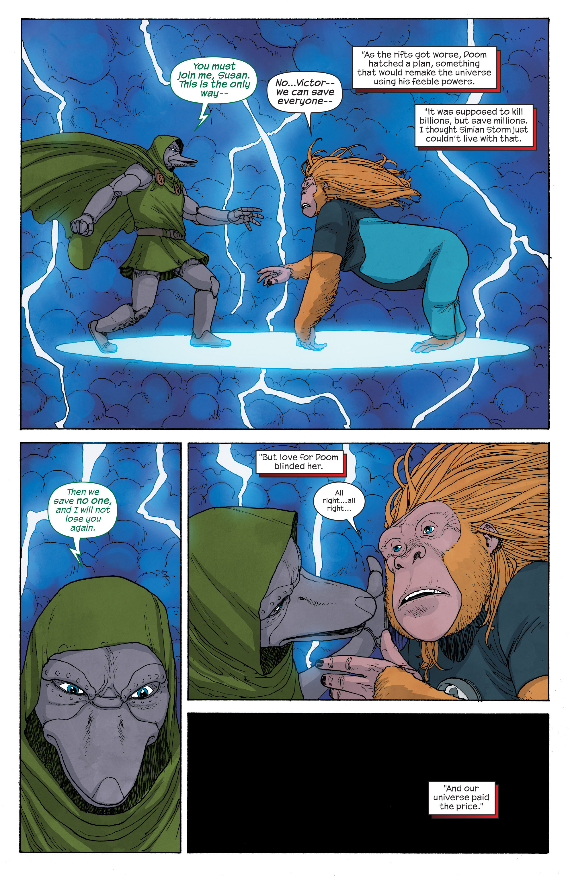 Read online Ultimate FF comic -  Issue #5 - 7
