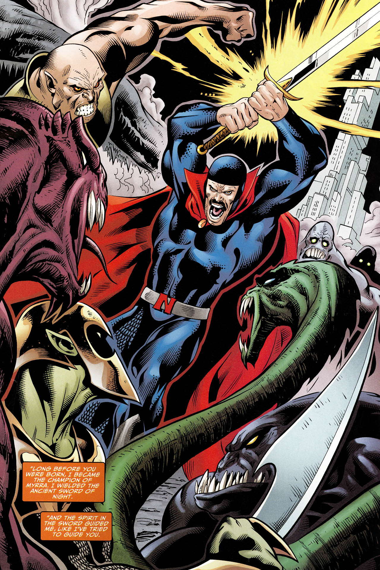 Read online Shadowpact comic -  Issue #12 - 18