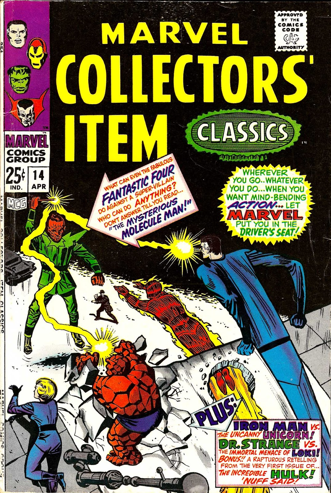 Marvel Collectors Item Classics 14 Page 1
