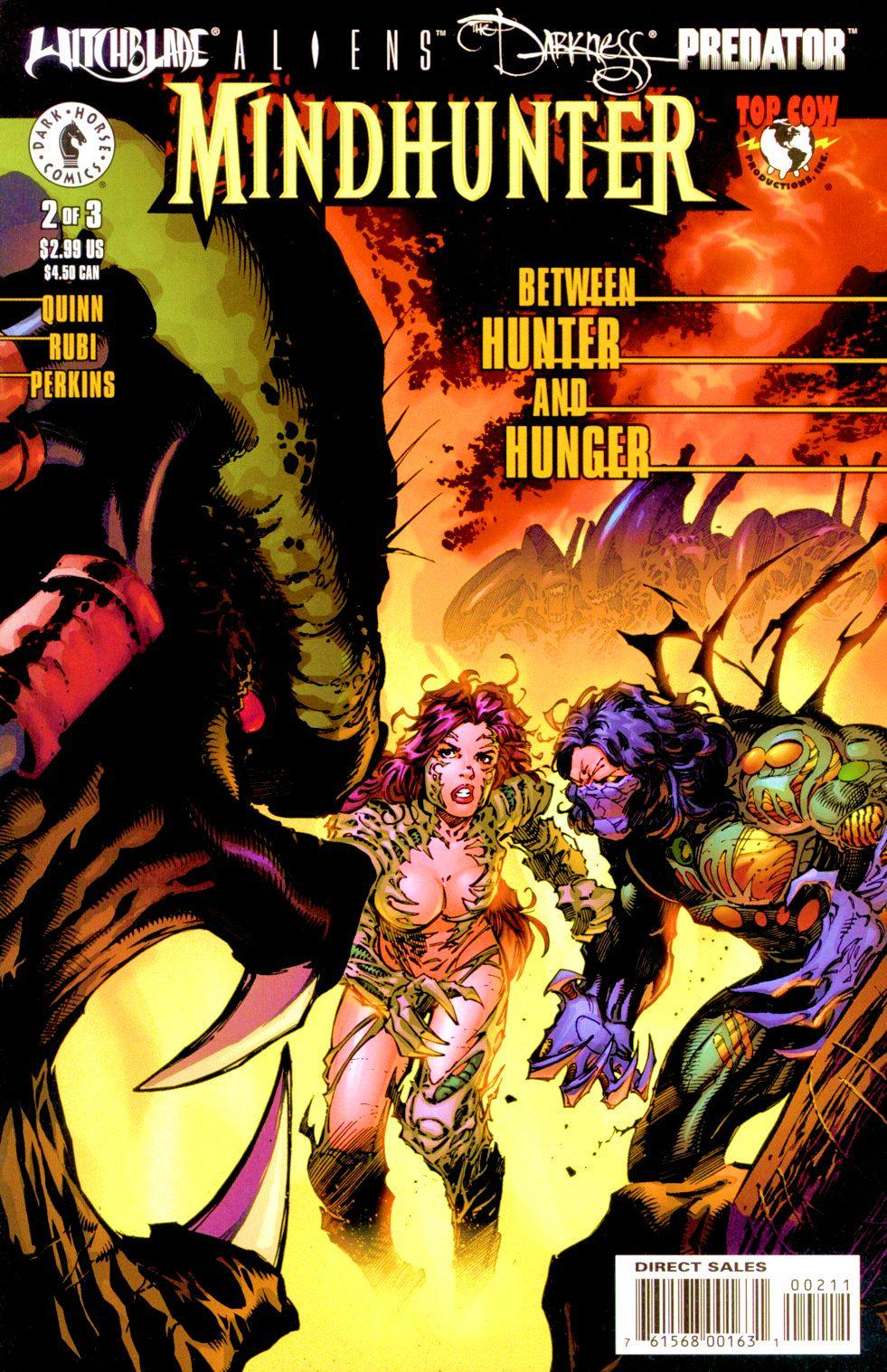 Witchblade/Aliens/The Darkness/Predator: Mindhunter 2 Page 1
