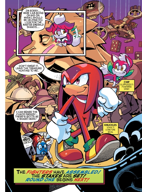 Read online Sonic Comics Spectacular: Speed of Sound comic -  Issue # Full - 15