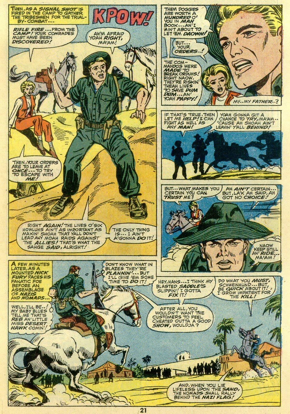 Read online Sgt. Fury comic -  Issue #107 - 23