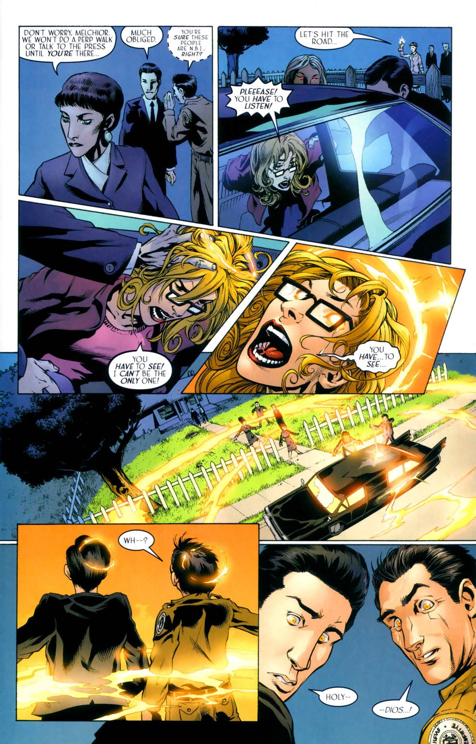 Read online Route 666 comic -  Issue #8 - 7