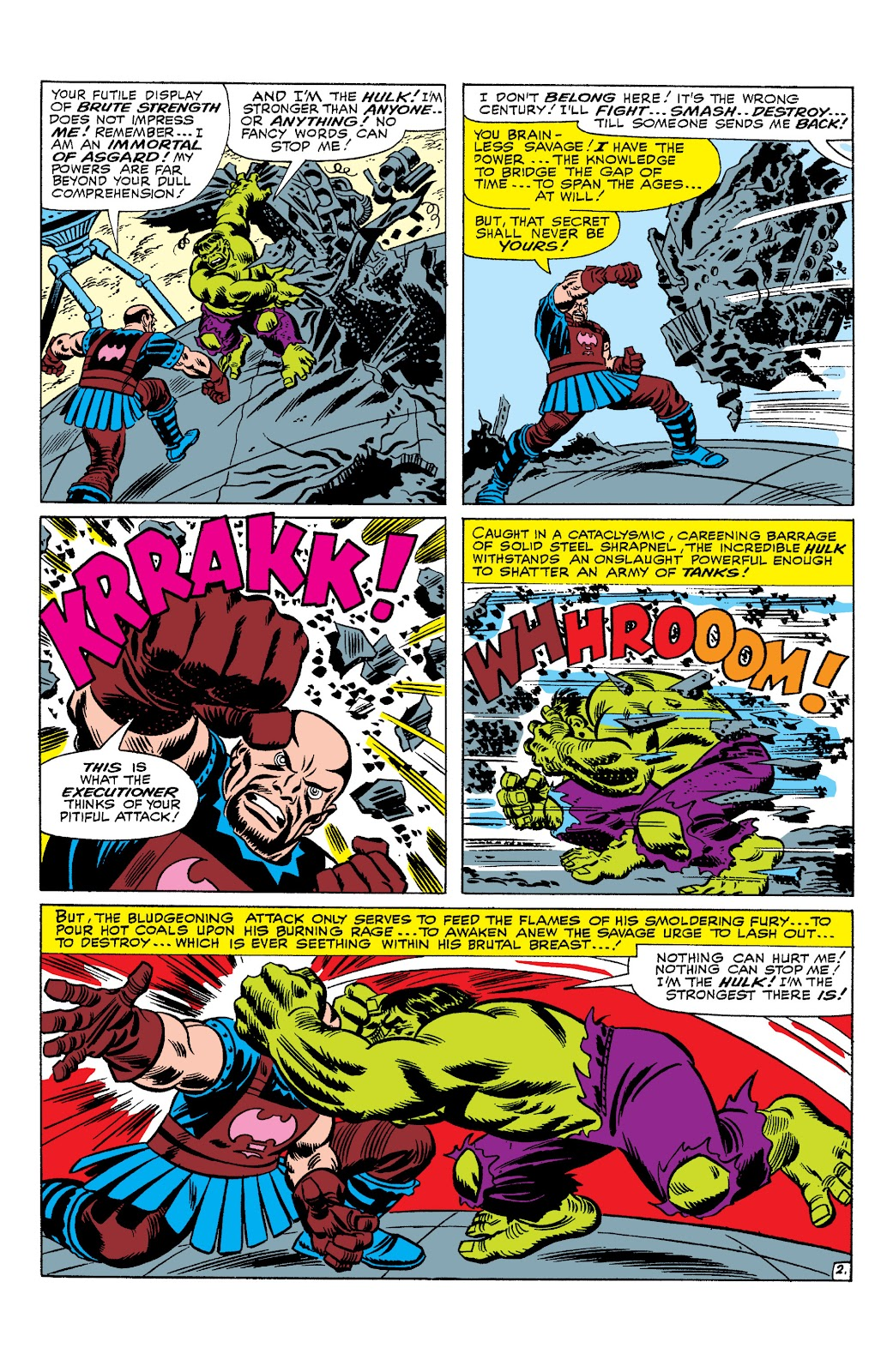 Read online Marvel Masterworks: The Incredible Hulk comic -  Issue # TPB 2 (Part 3) - 13