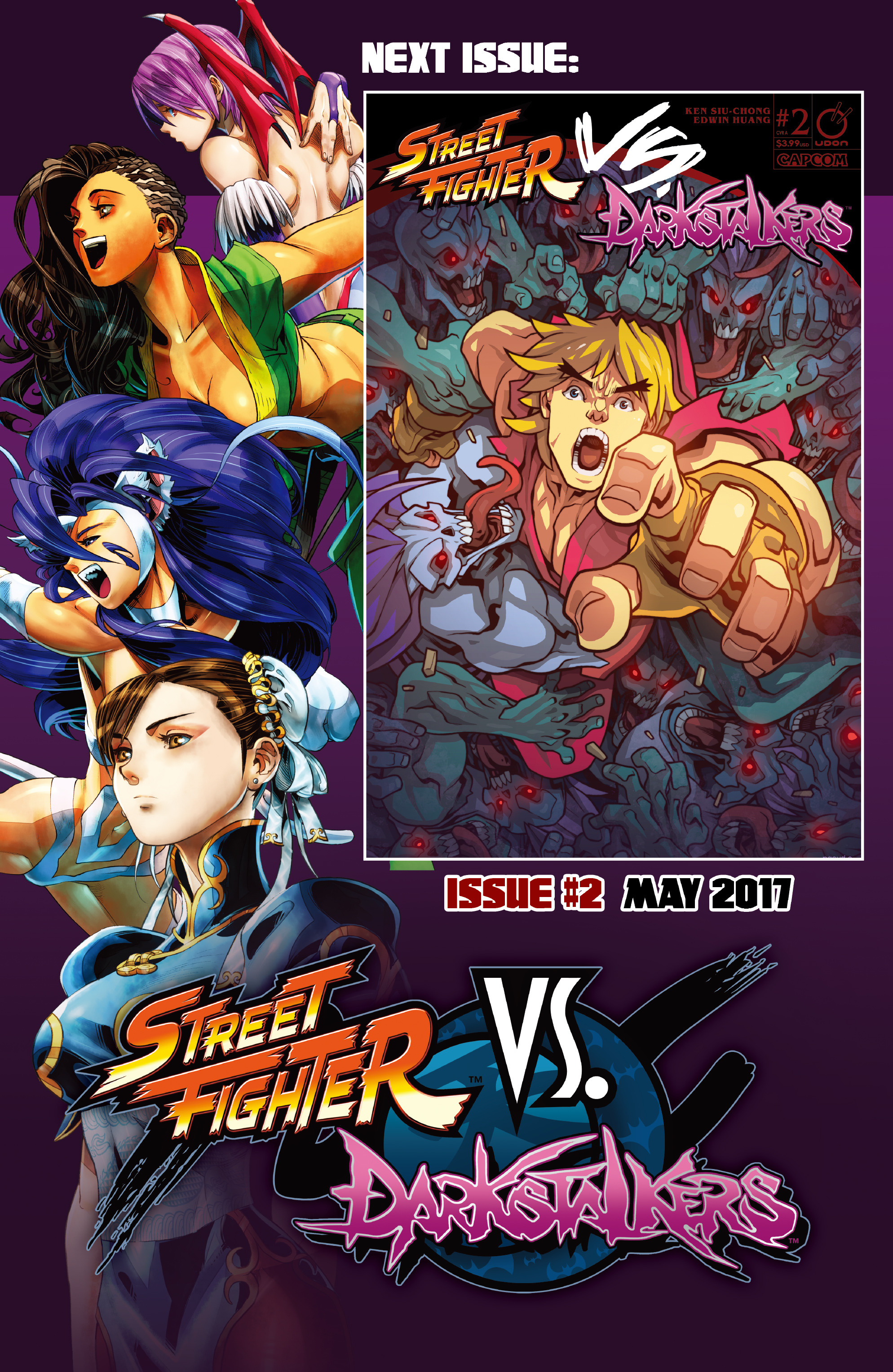 Read online Street Fighter VS Darkstalkers comic -  Issue #1 - 24