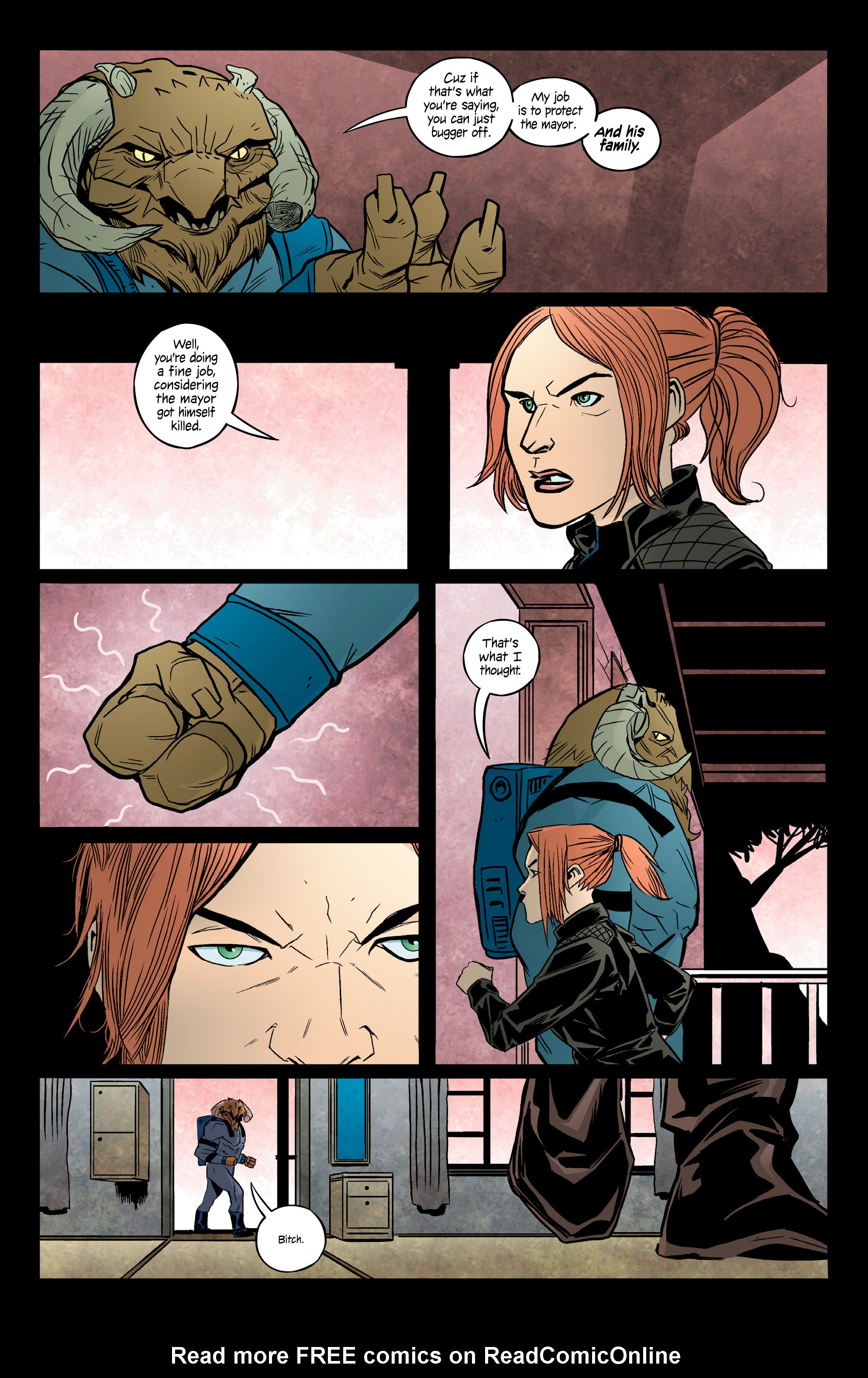 Read online Copperhead comic -  Issue #13 - 5