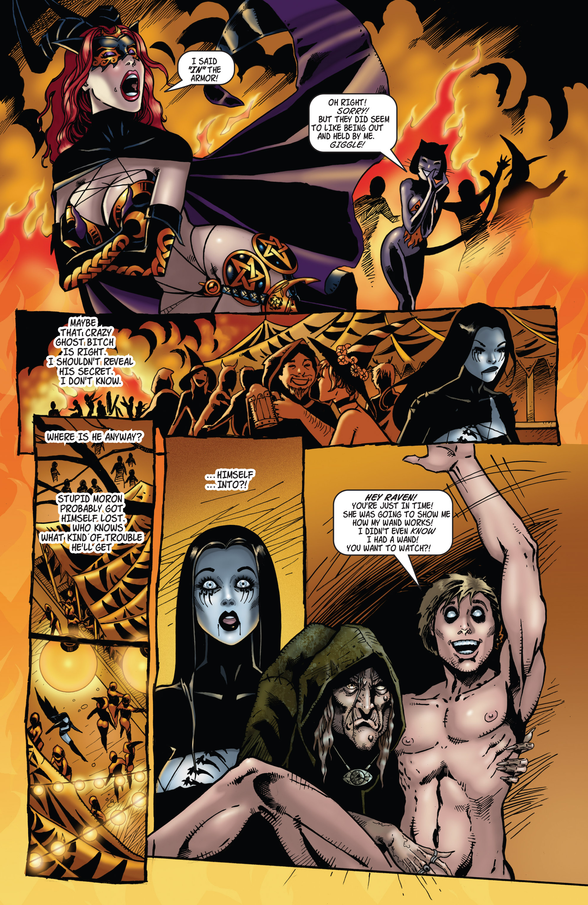 Read online Tarot: Witch of the Black Rose comic -  Issue #104 - 13