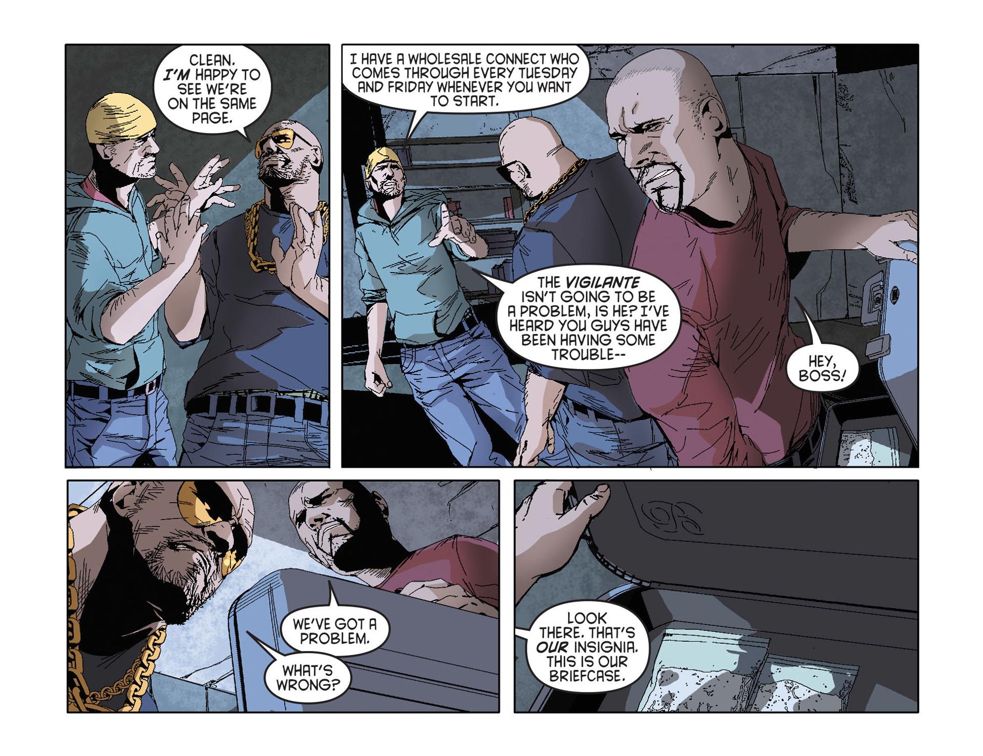 Read online Arrow [II] comic -  Issue #27 - 15