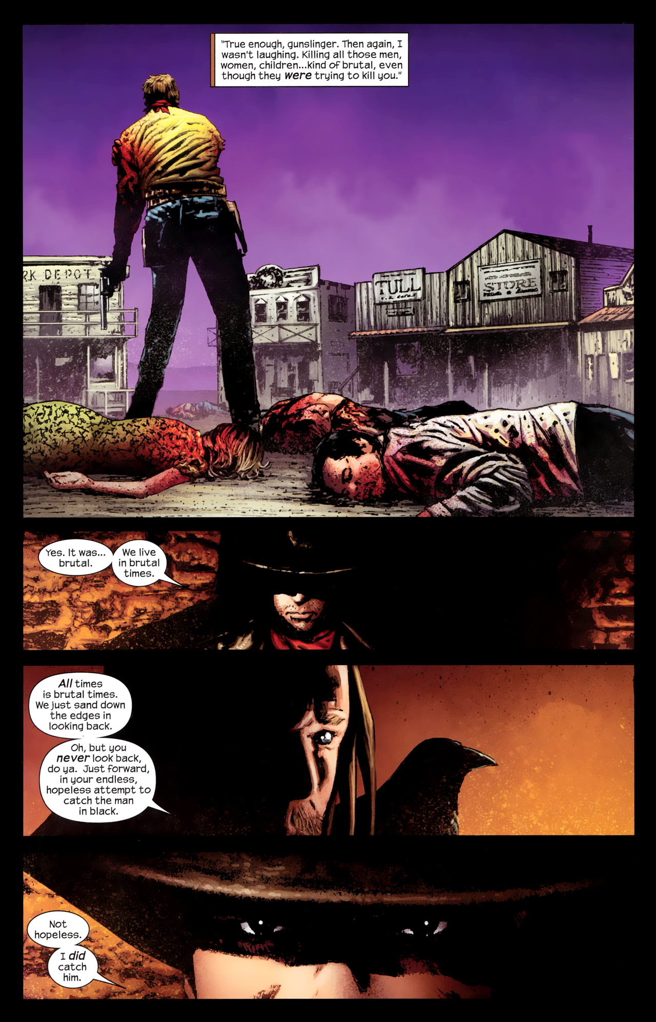 Read online Dark Tower: The Gunslinger - The Way Station comic -  Issue #1 - 6