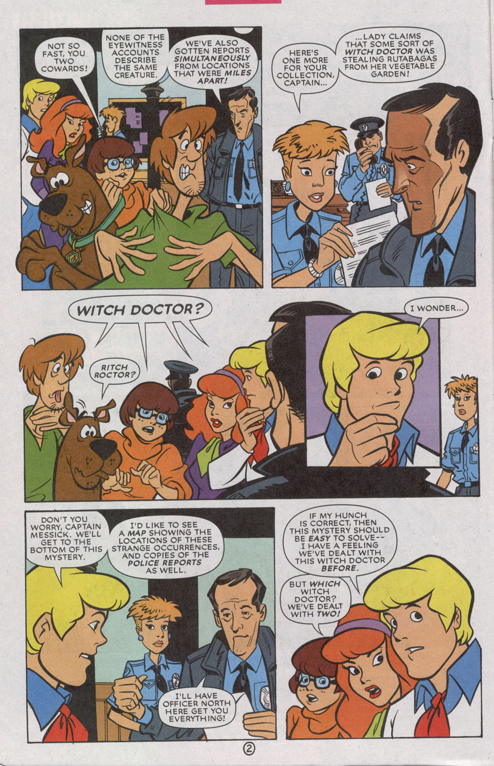 Read online Scooby-Doo (1997) comic -  Issue #74 - 4