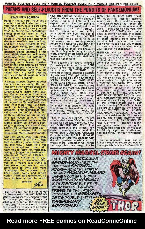 Read online Uncanny X-Men (1963) comic -  Issue #92 - 29