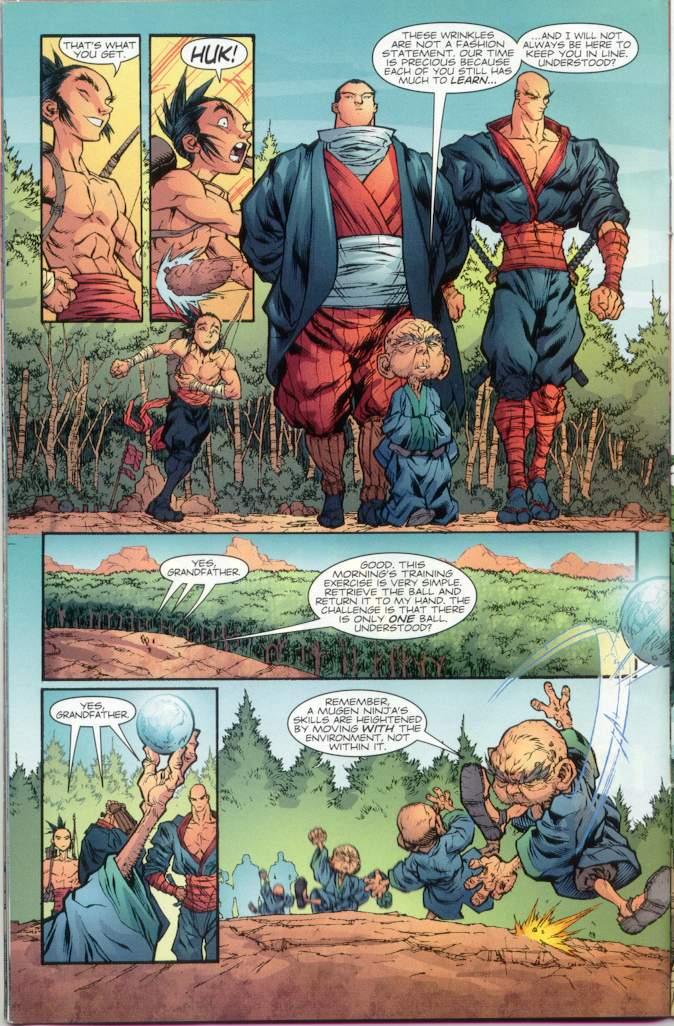 Read online Ninja Boy comic -  Issue #1 - 13