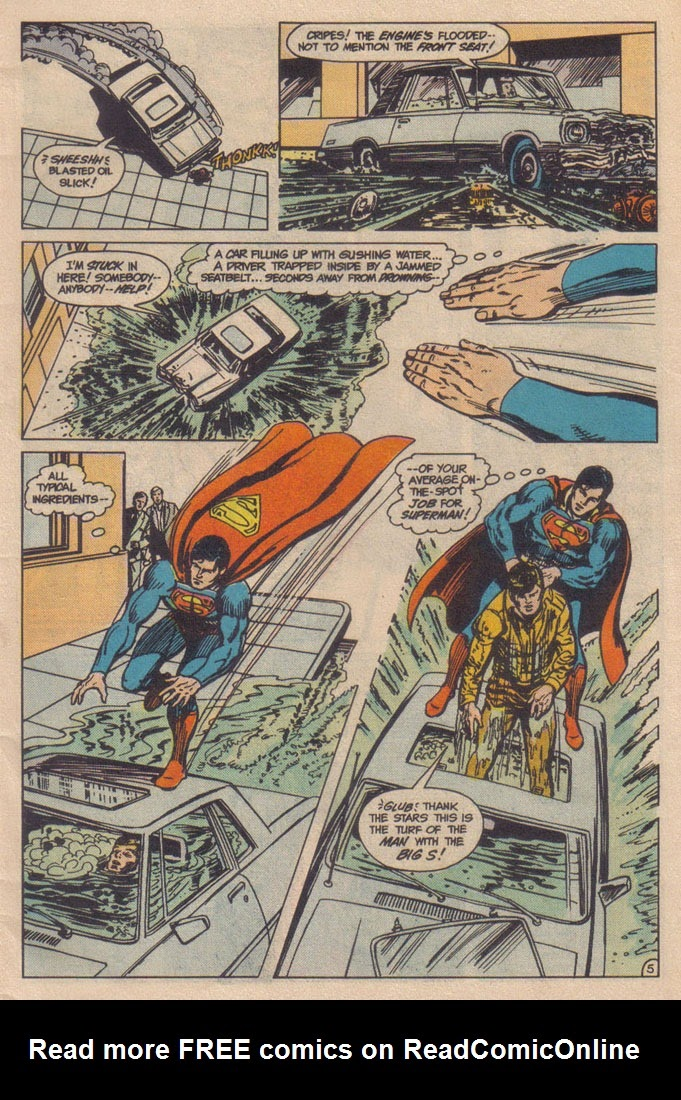 Read online Superman III comic -  Issue # Full - 5