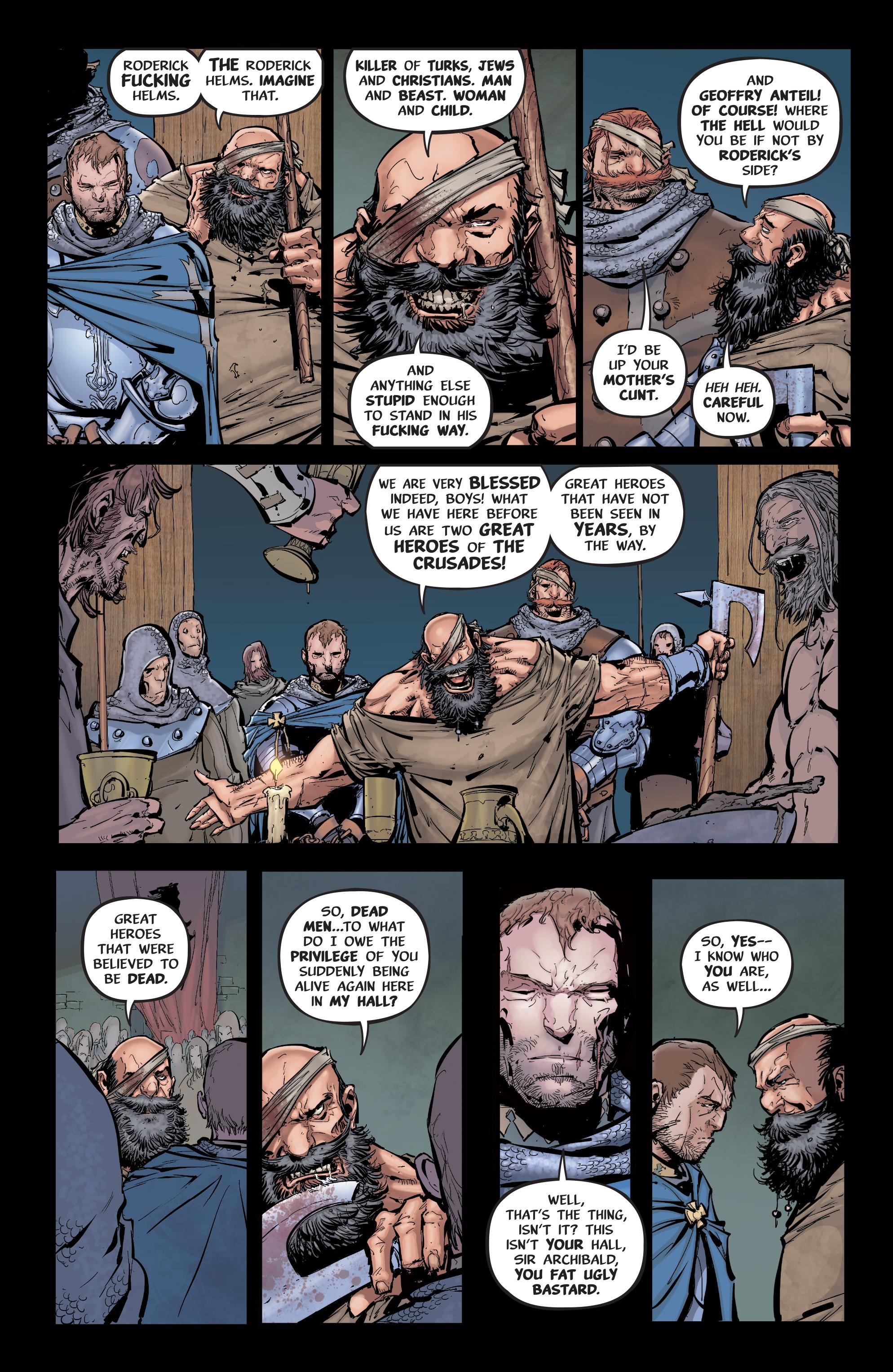 Read online Pestilence comic -  Issue #1 - 9