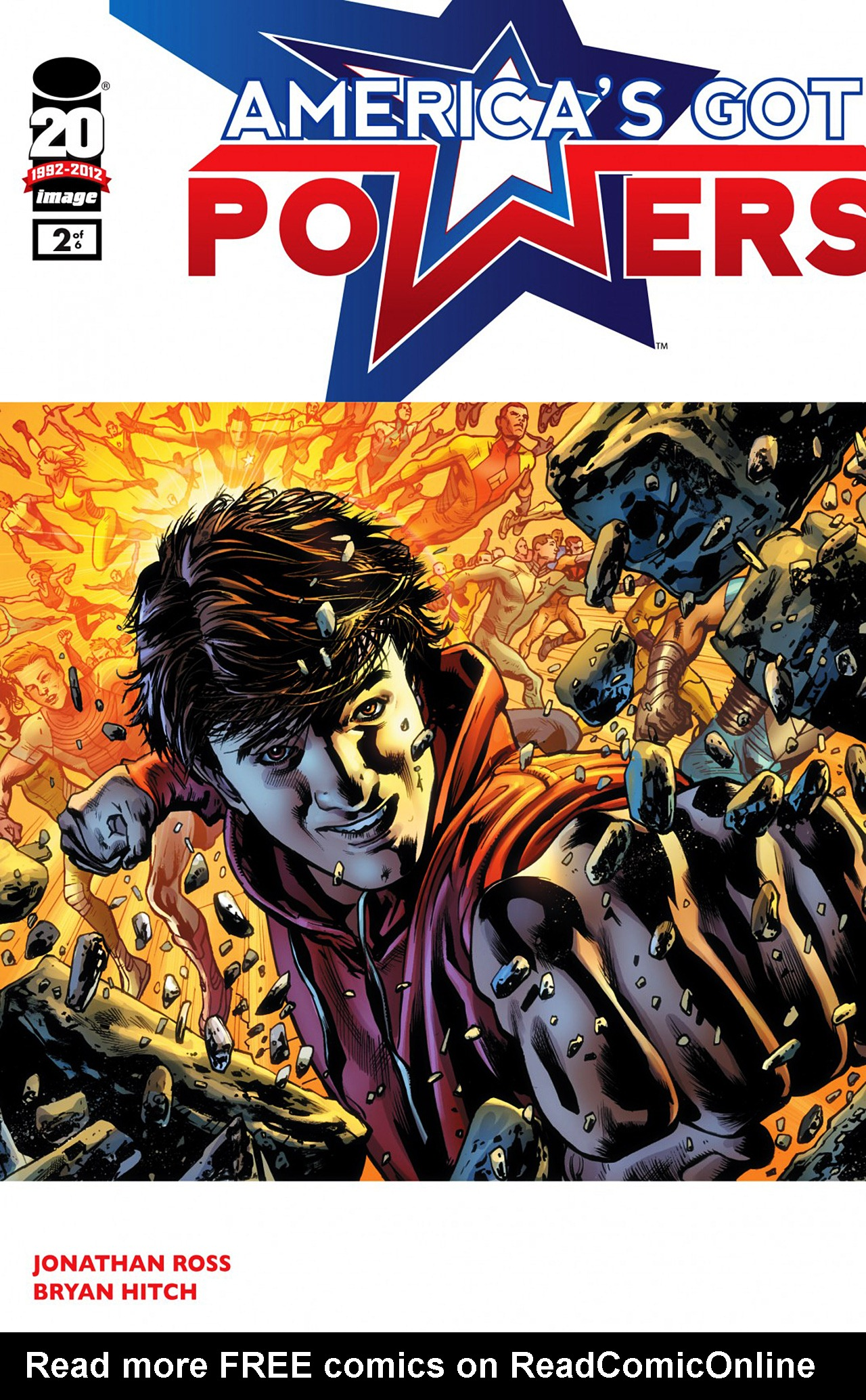 Read online America's Got Powers comic -  Issue #1 - 1