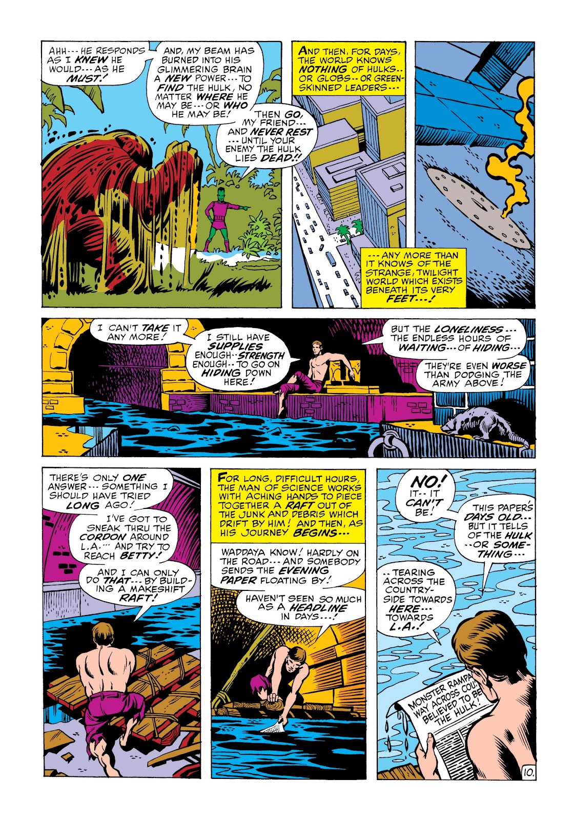 Read online Marvel Masterworks: The Incredible Hulk comic -  Issue # TPB 6 (Part 2) - 64