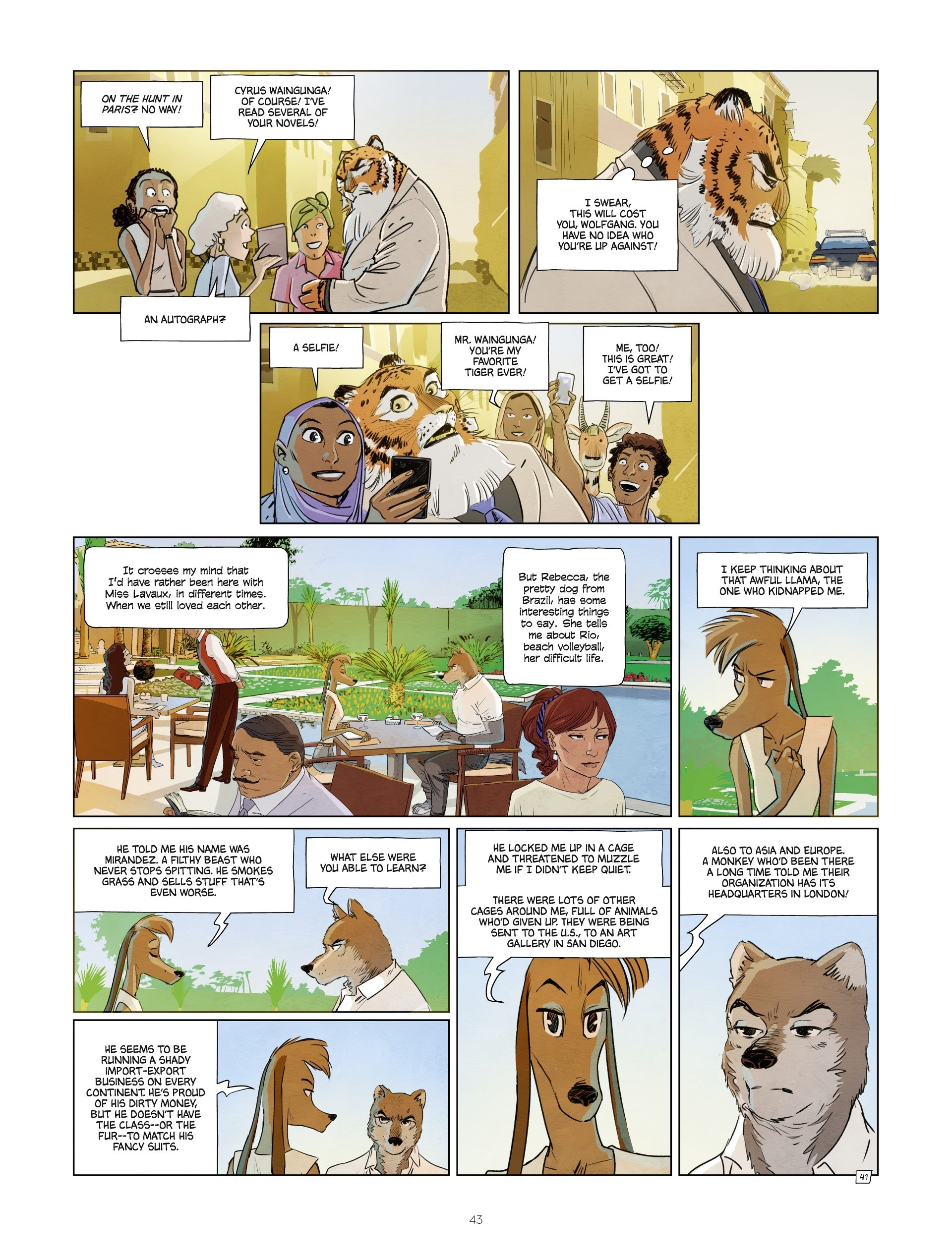 Read online Jack Wolfgang comic -  Issue #3 - 45