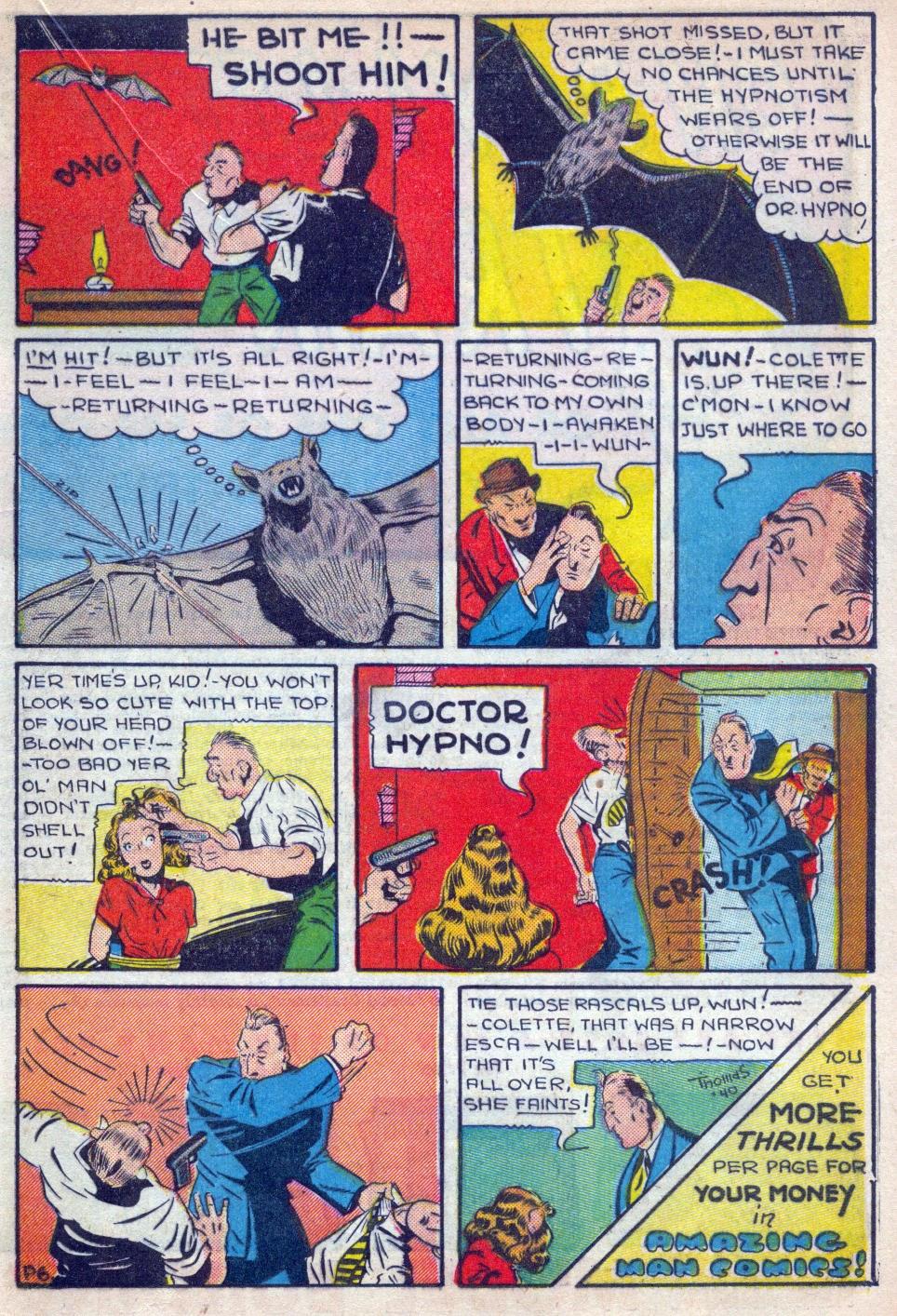 Read online Amazing Man Comics comic -  Issue #15 - 32