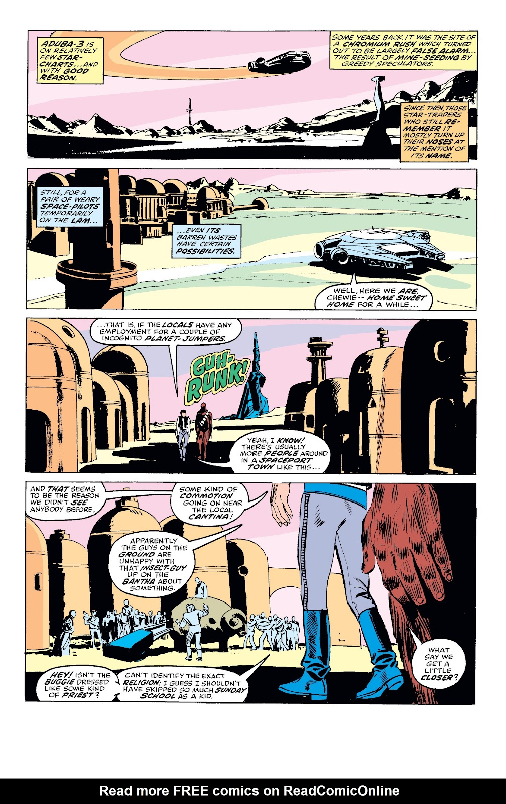 Read online Star Wars Legends: The Original Marvel Years - Epic Collection comic -  Issue # TPB 1 (Part 2) - 24