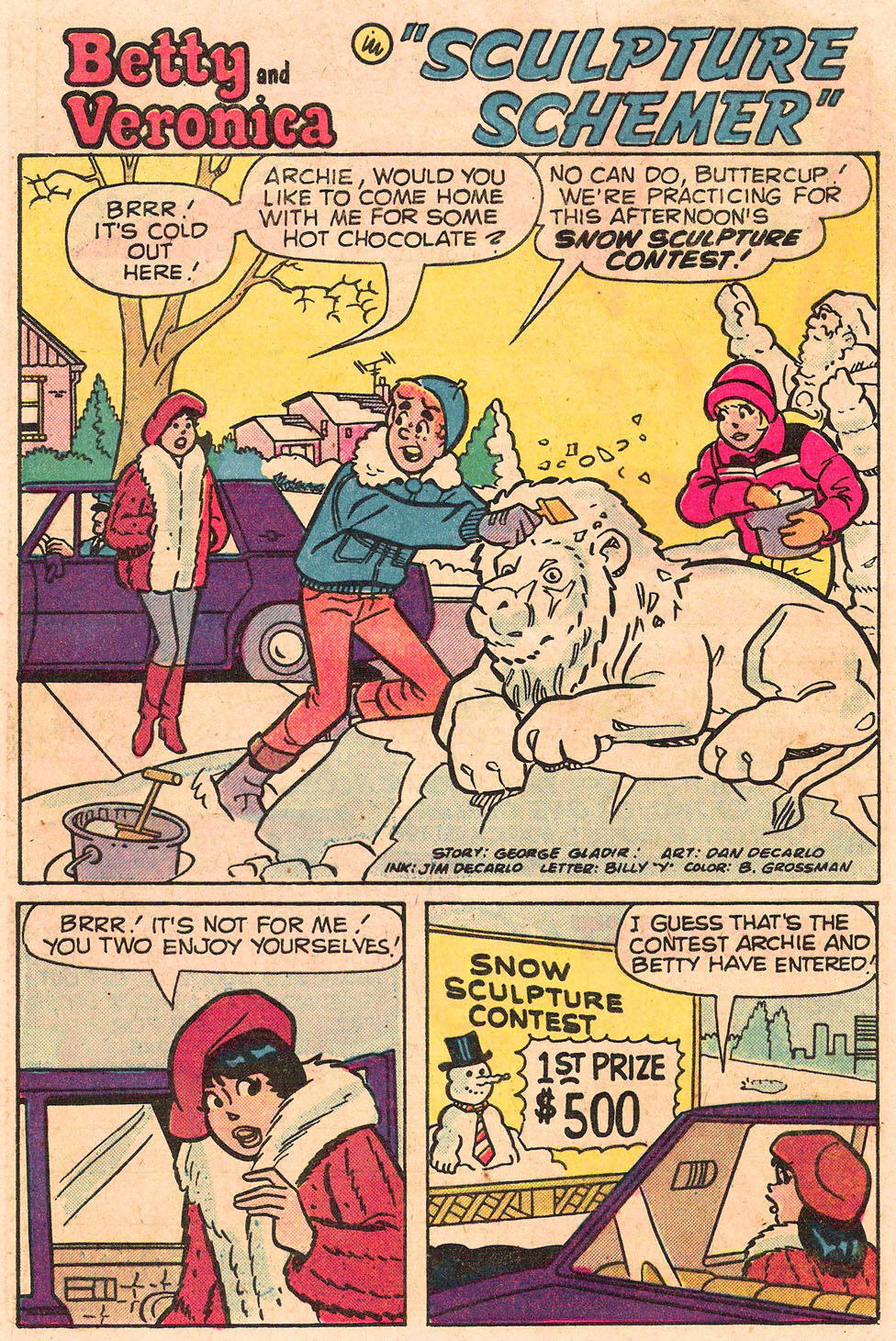 Read online Archie's Girls Betty and Veronica comic -  Issue #303 - 20