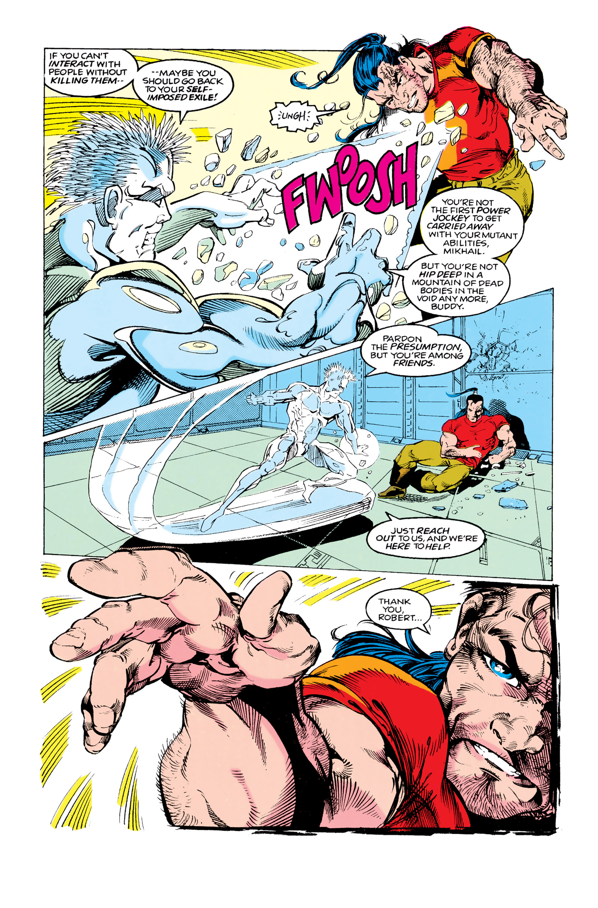 Read online Uncanny X-Men (1963) comic -  Issue #292 - 14