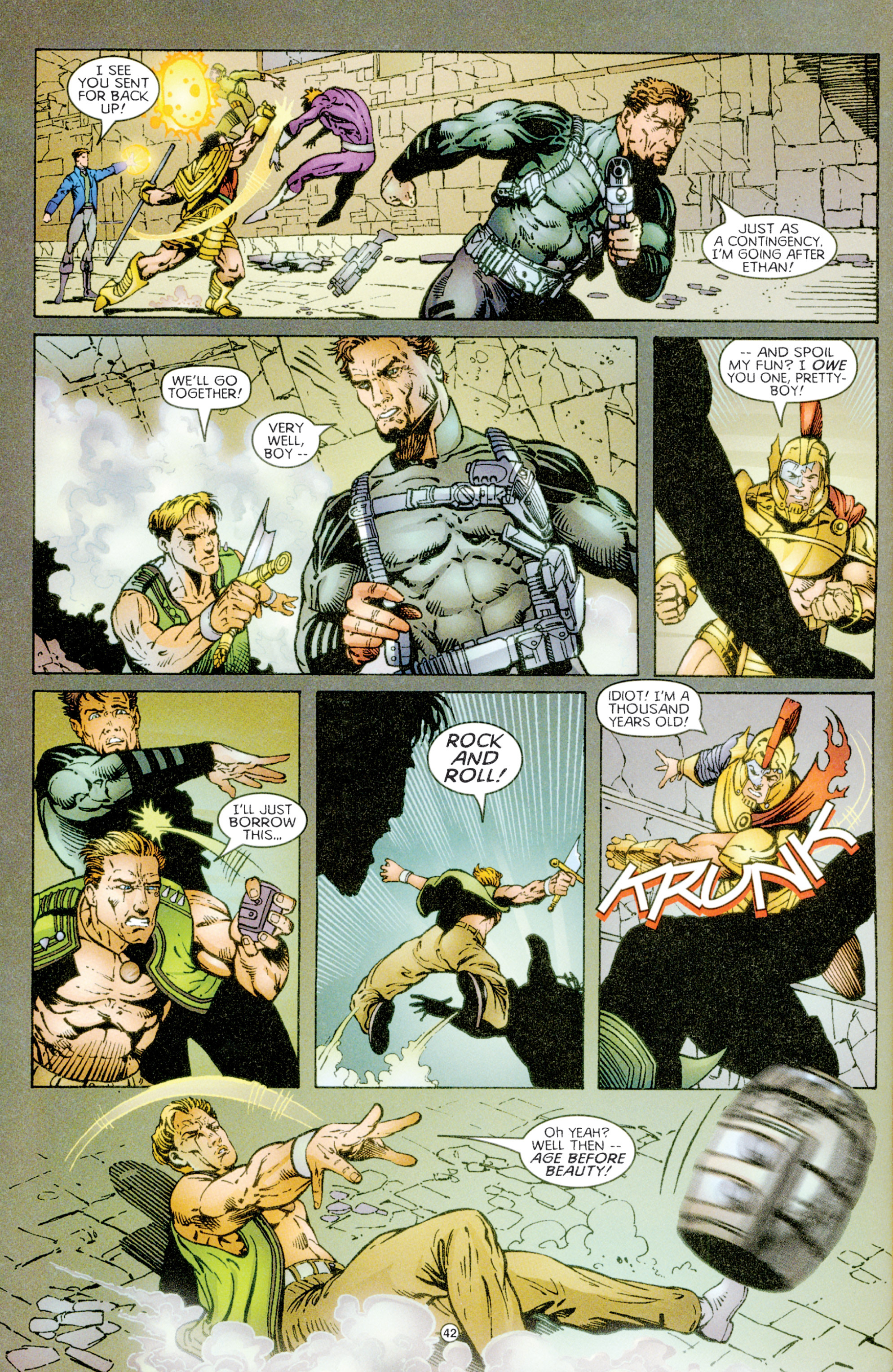 Read online Eternal Warriors comic -  Issue # Issue Time & Treachery - 41