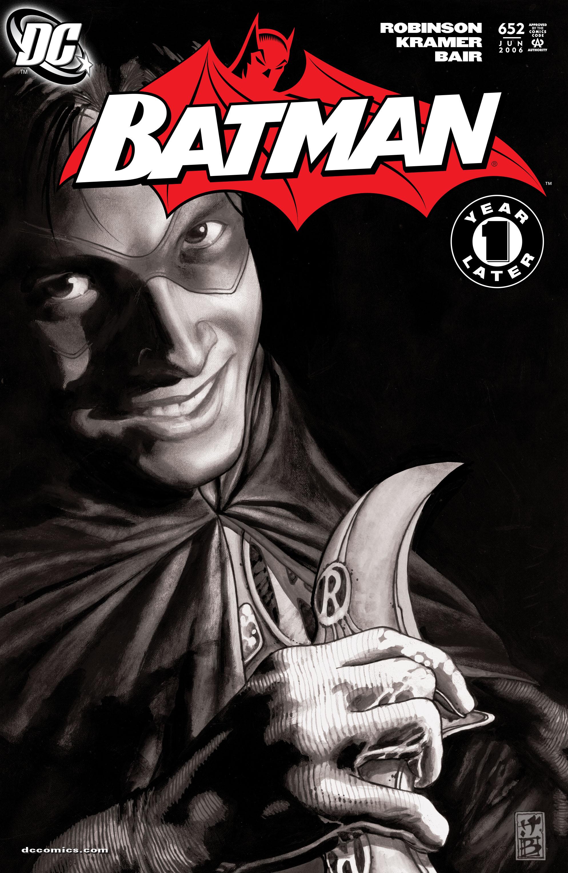 Batman (1940) 652 Page 1