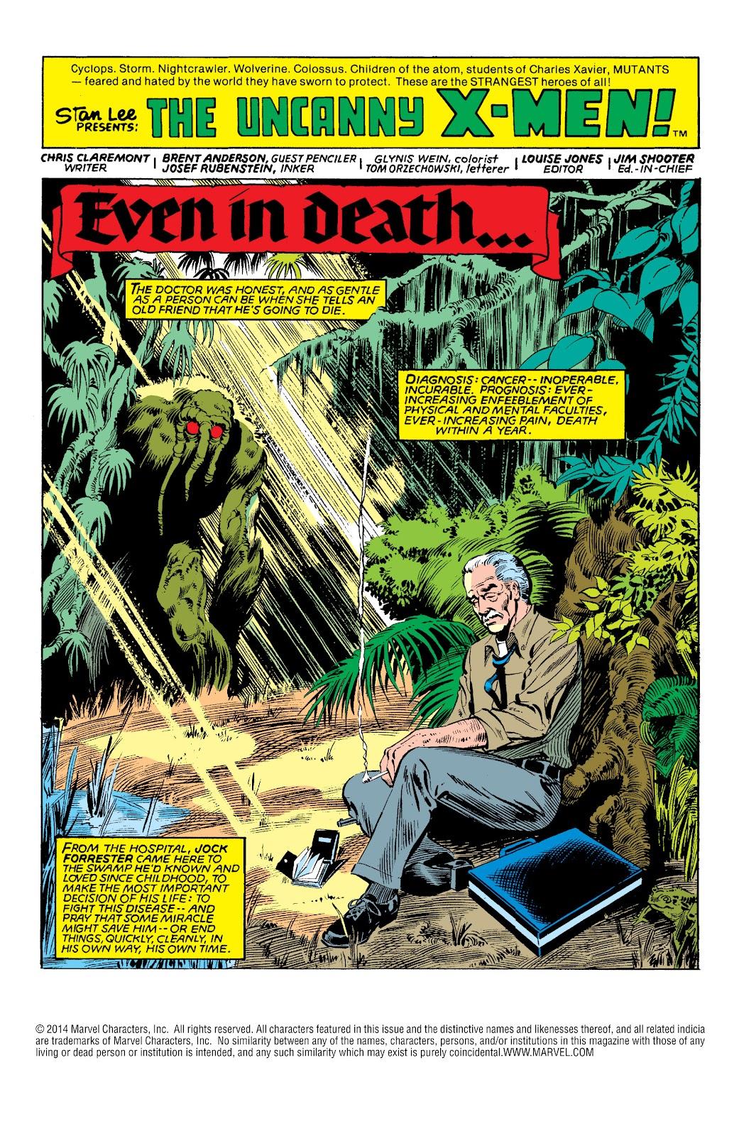 Uncanny X-Men (1963) 144 Page 2