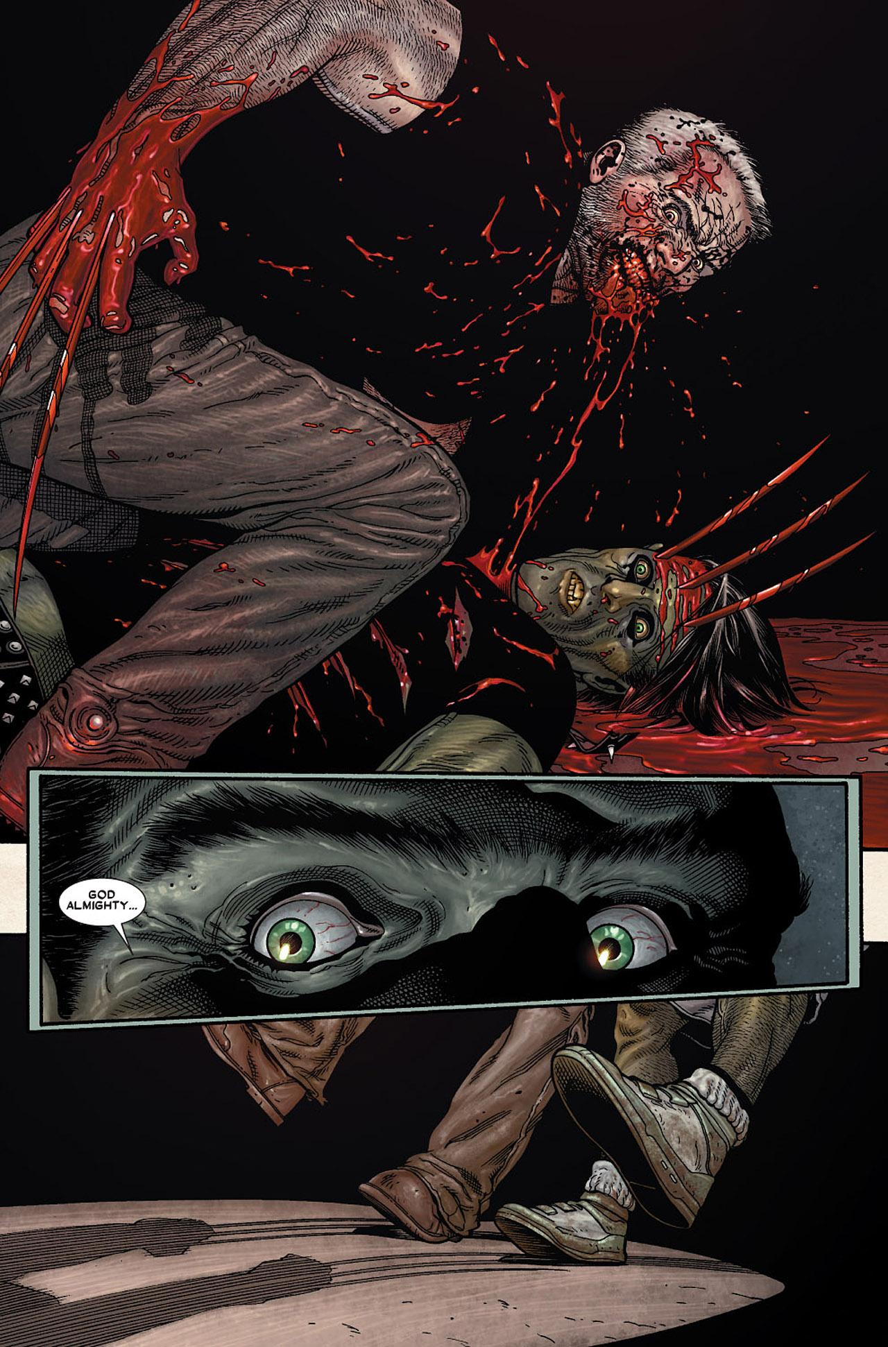 Read online Wolverine: Old Man Logan comic -  Issue # Full - 172