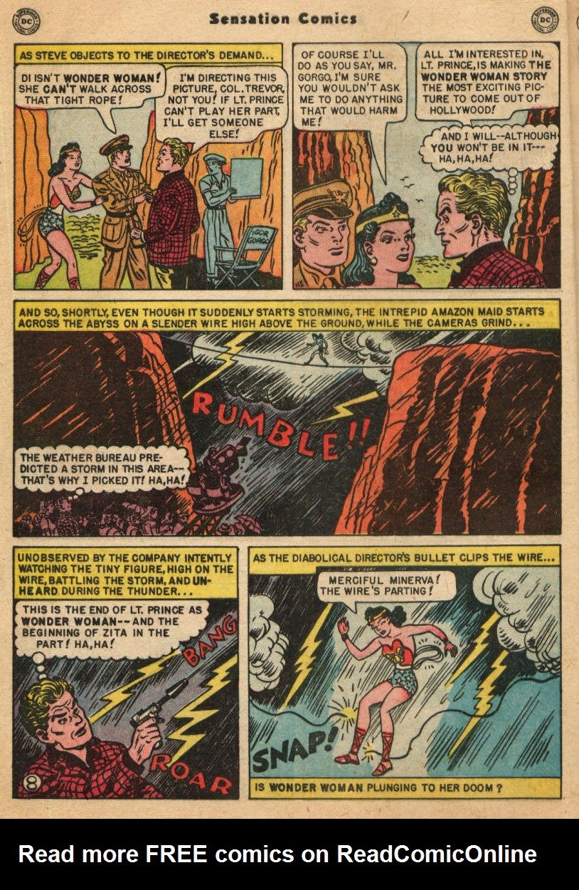 Read online Sensation (Mystery) Comics comic -  Issue #100 - 10