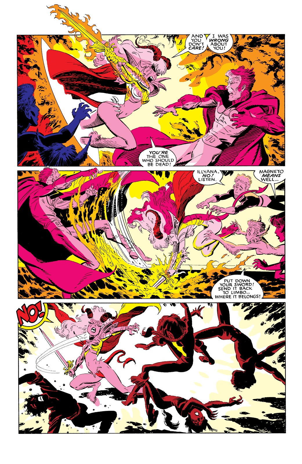 Read online X-Men Milestones: Fall of the Mutants comic -  Issue # TPB (Part 2) - 77