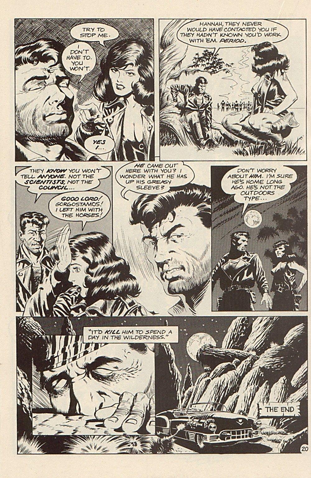 Read online Xenozoic Tales comic -  Issue #3 - 23