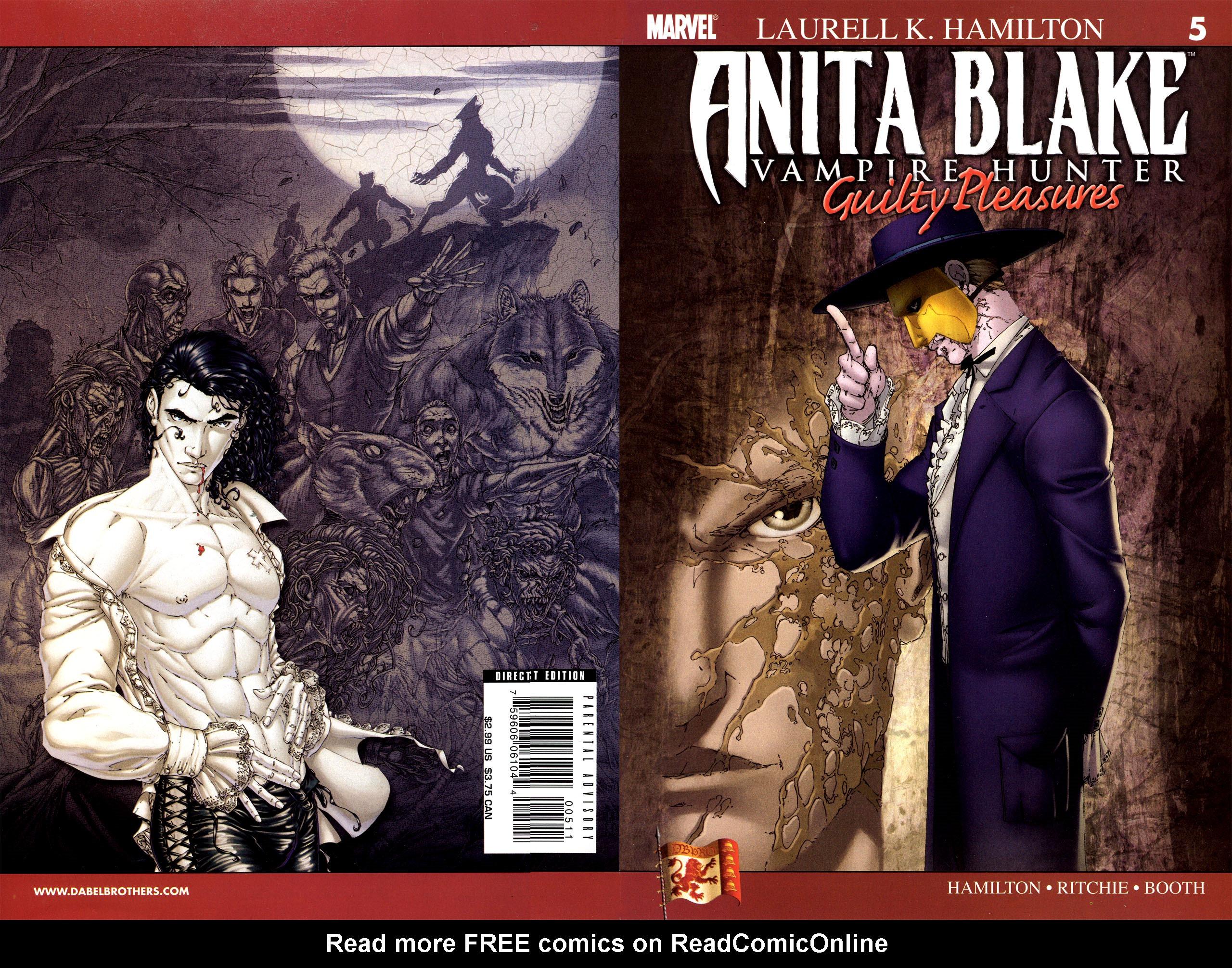 Read online Anita Blake, Vampire Hunter: Guilty Pleasures comic -  Issue #5 - 27
