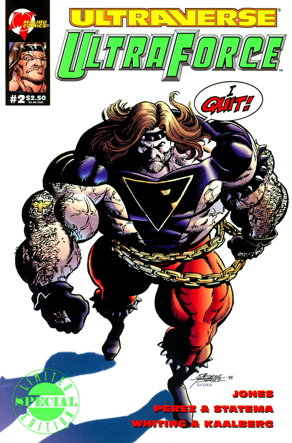 Read online UltraForce (1994) comic -  Issue #2 - 1