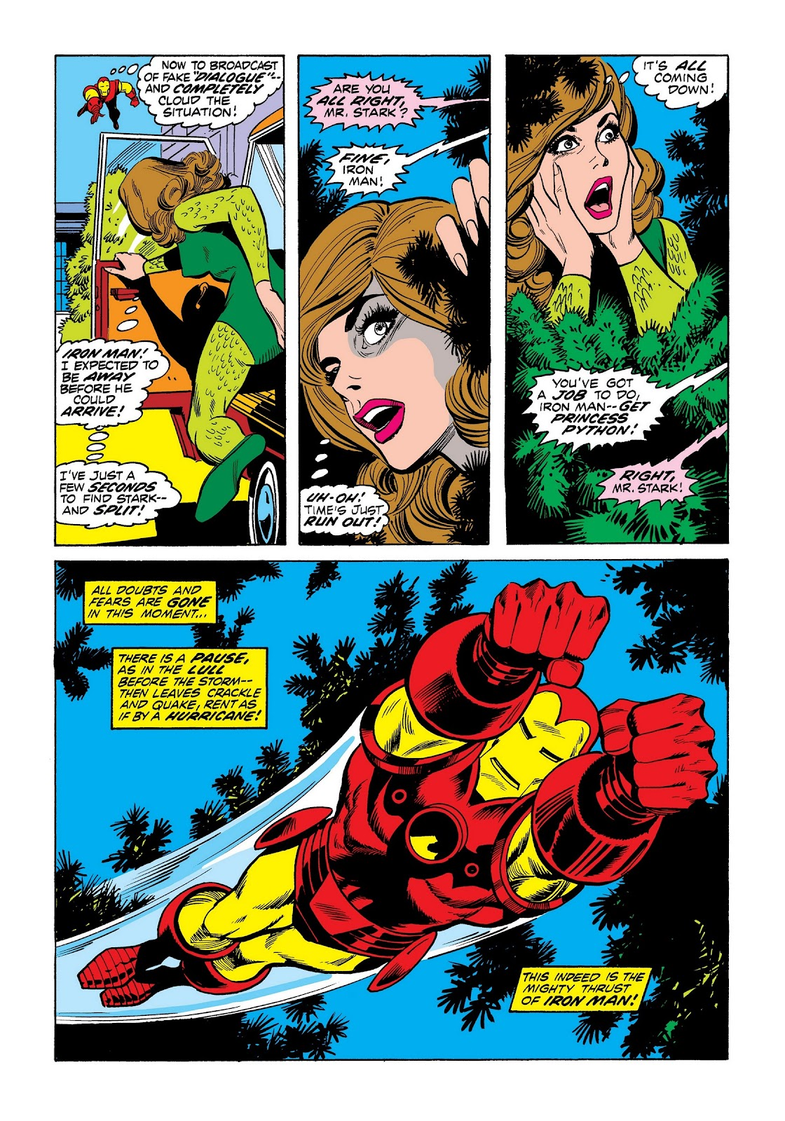 Read online Marvel Masterworks: The Invincible Iron Man comic -  Issue # TPB 8 (Part 3) - 44