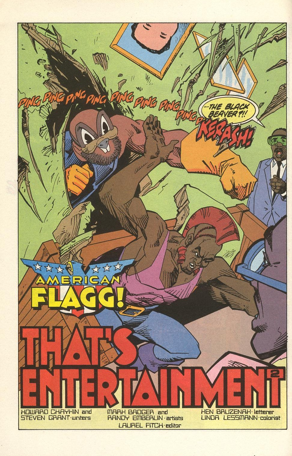 Read online American Flagg! comic -  Issue #32 - 6